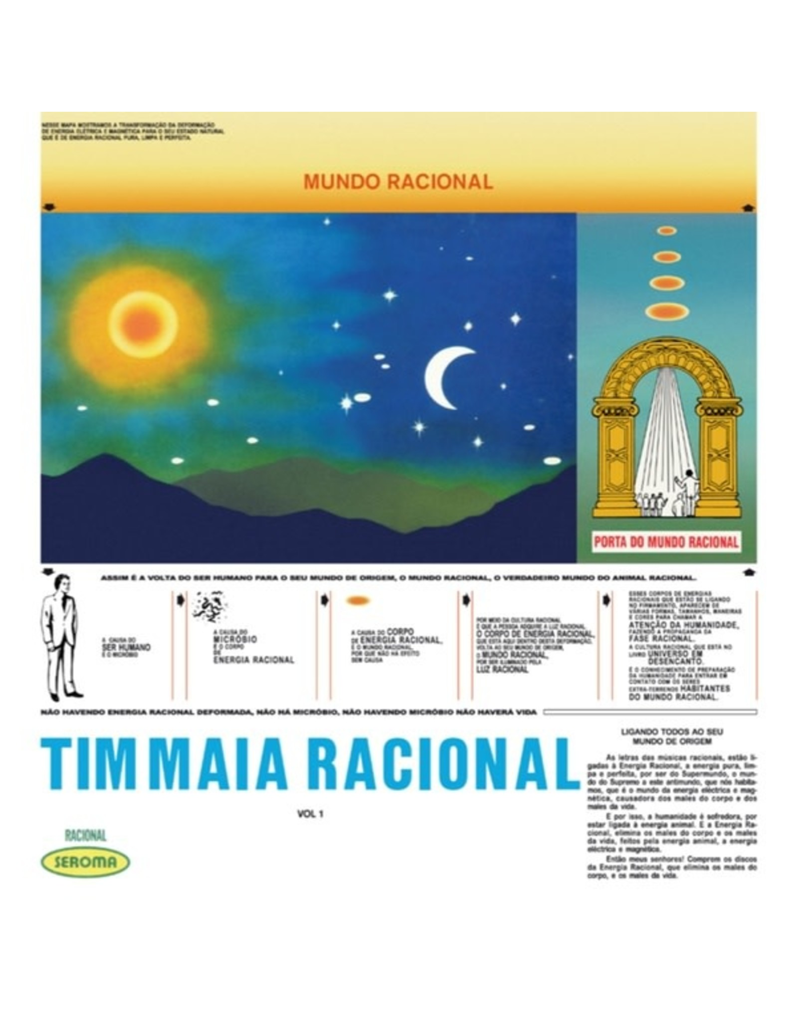 New Vinyl Tim Maia - Racional Vol. 1 LP