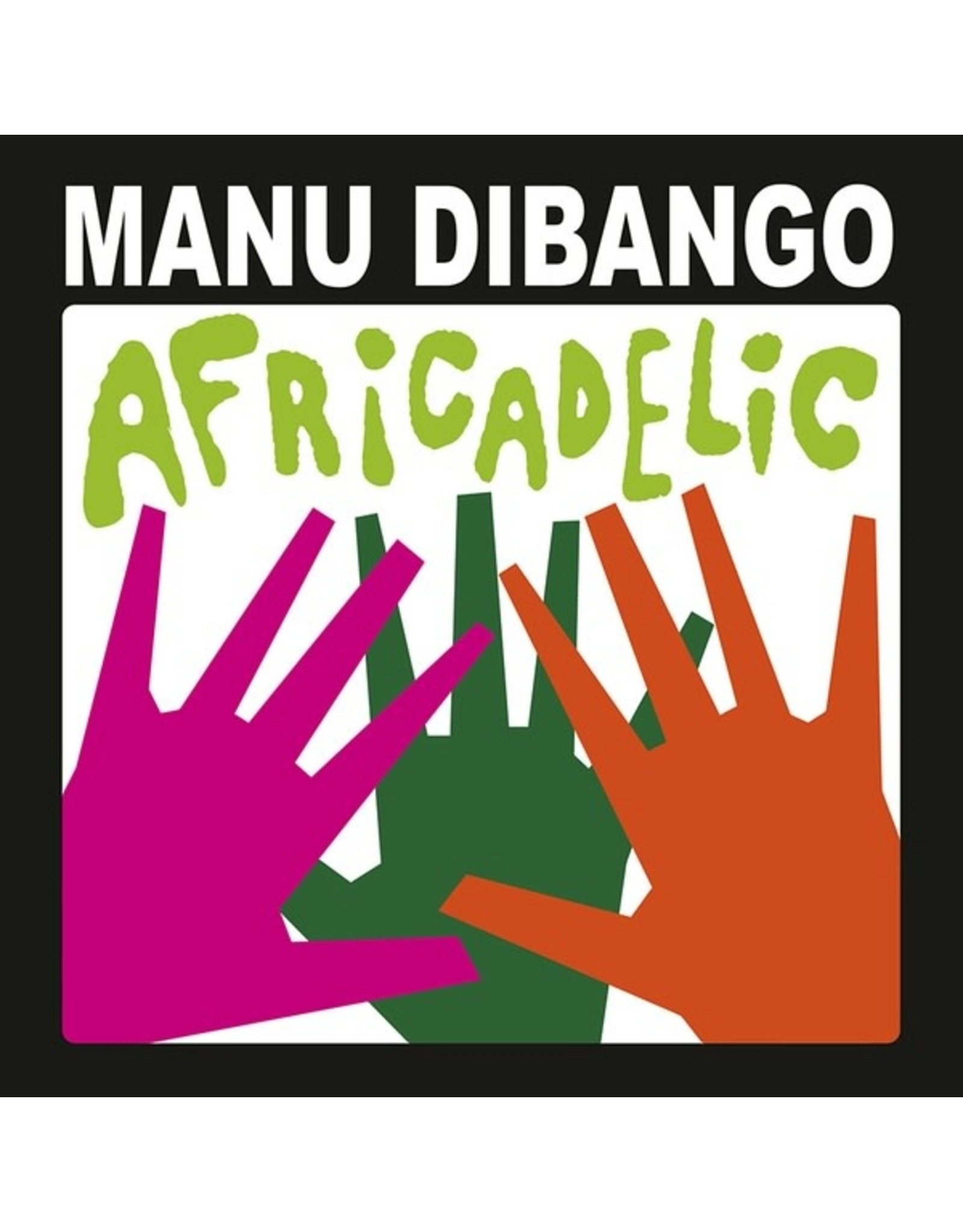 New Vinyl Manu Dibango - Africadelic LP