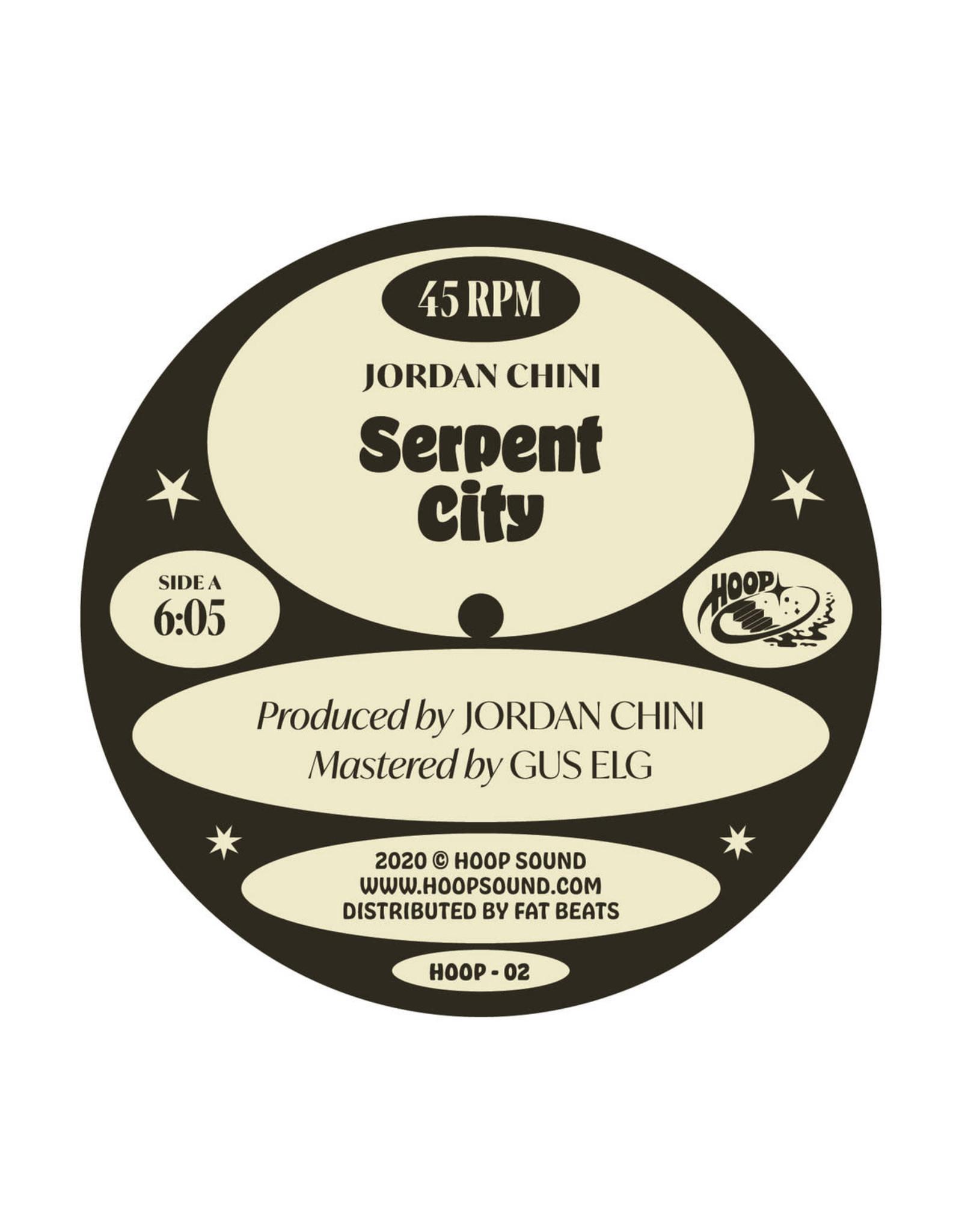 """New Vinyl Jordan Chini / Moon B - Hoop Discus 01 12"""""""