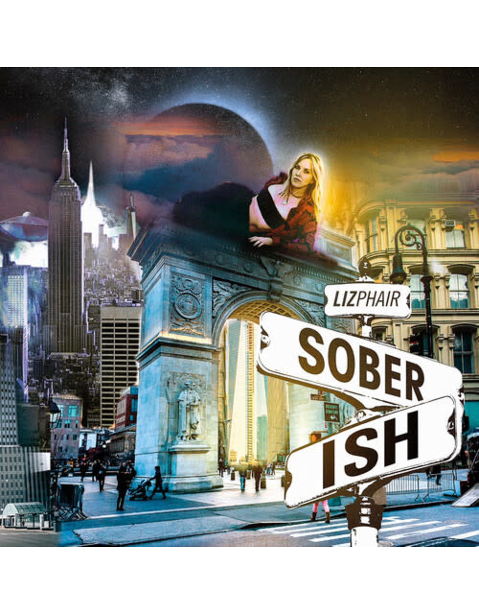 New Vinyl Liz Phair - Soberish (IEX, Milky Clear) LP