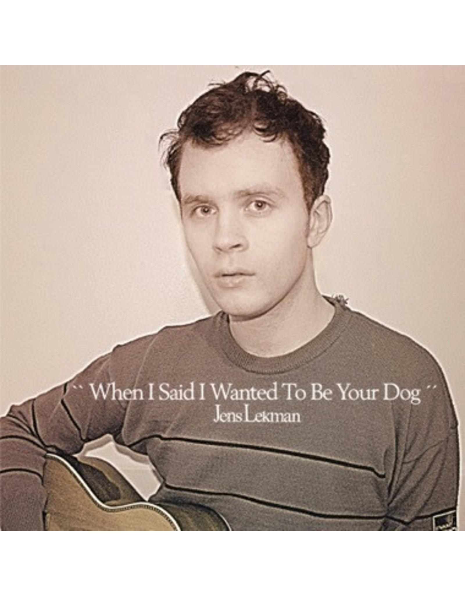 New Vinyl Jens Lekman - When I Said I Wanted To Be Your Dog (Opaque Green) LP