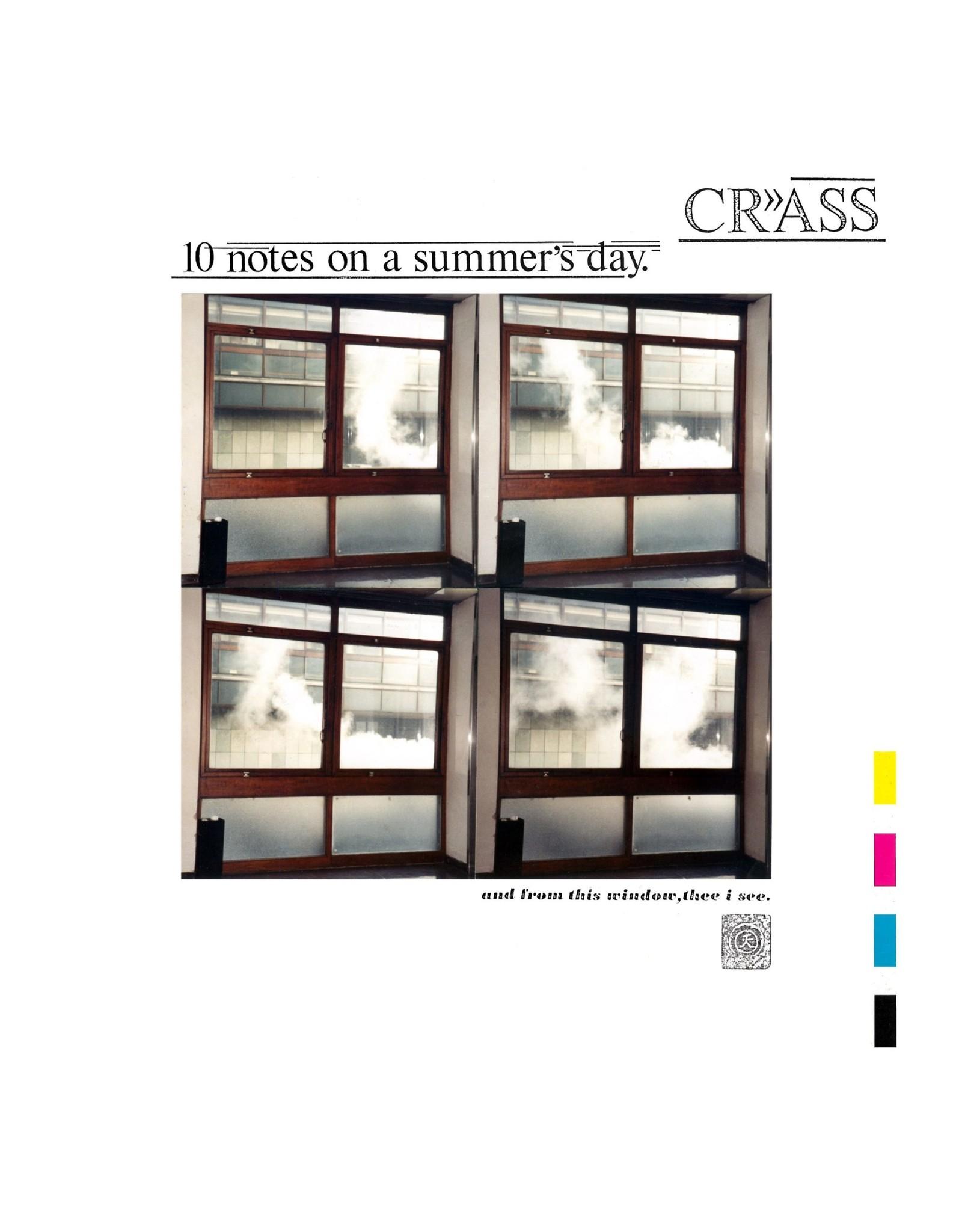 New Vinyl Crass - 10 Notes On A Summer's Day LP