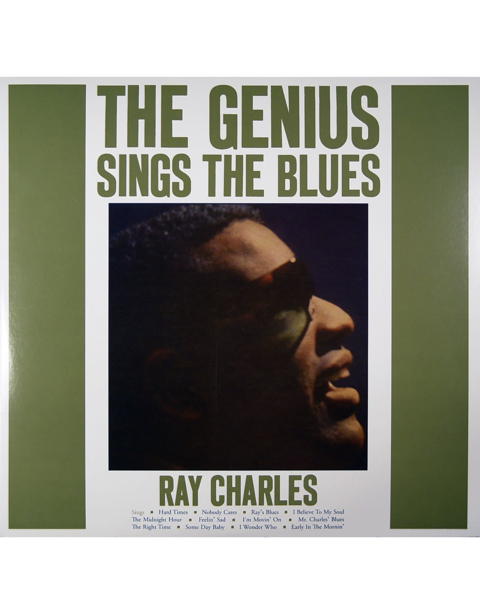 New Vinyl Ray Charles - Genius Sings The Blues (Colored) LP