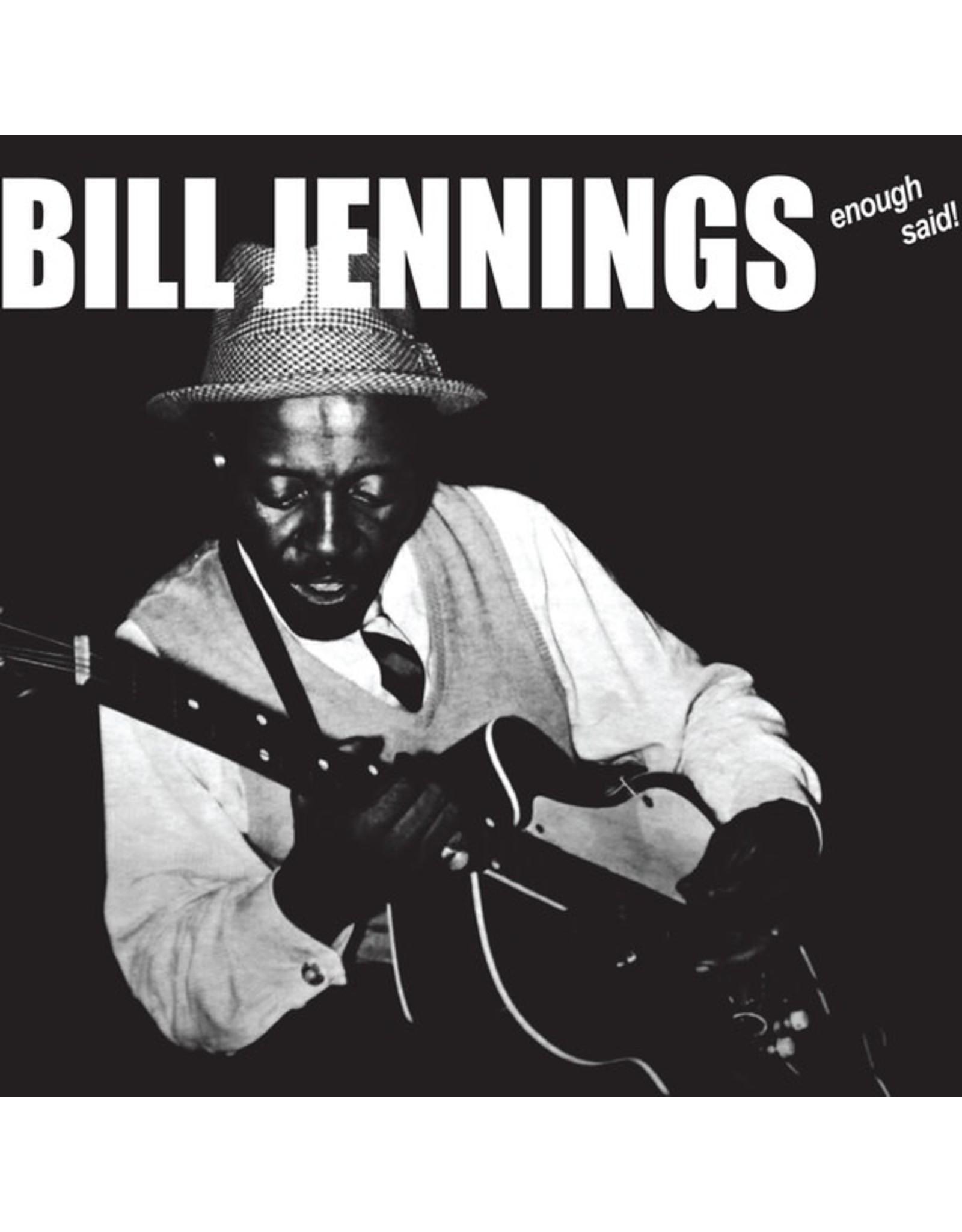 New Vinyl Bill Jennings - Enough Said! LP
