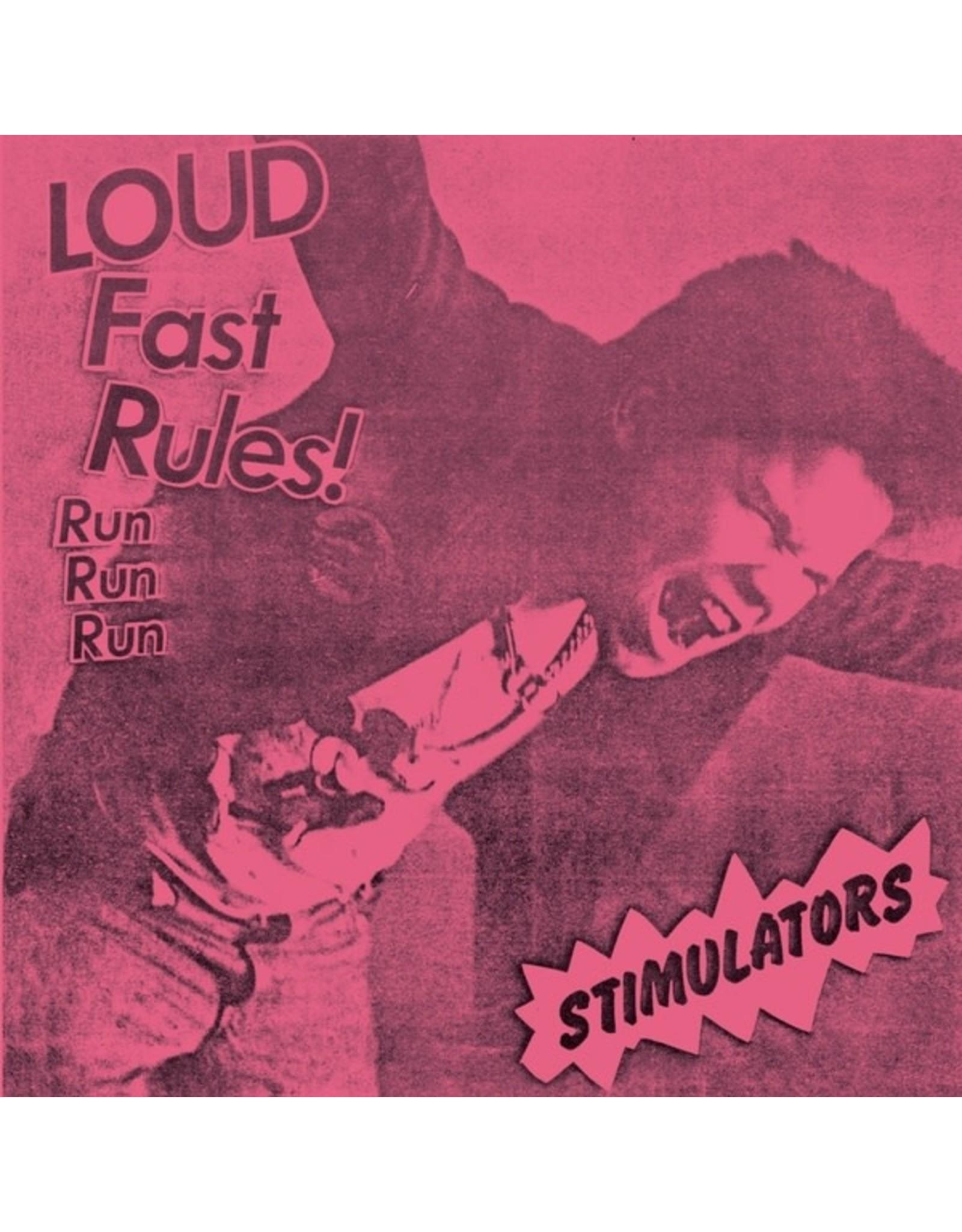 "New Vinyl Stimulators - Loud Fast Rules! 7"""