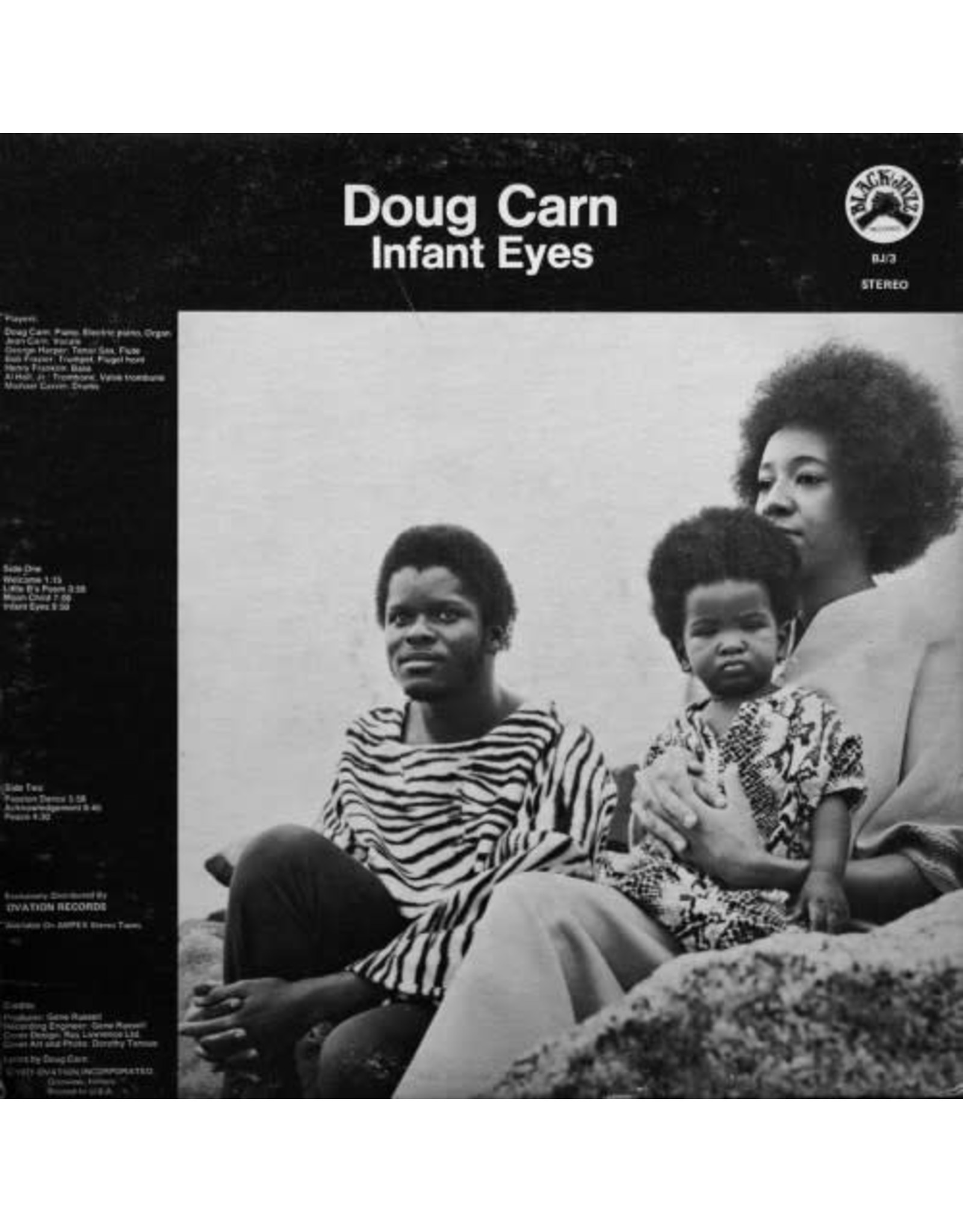 New Vinyl Doug Carn - Infant Eyes (Colored) LP