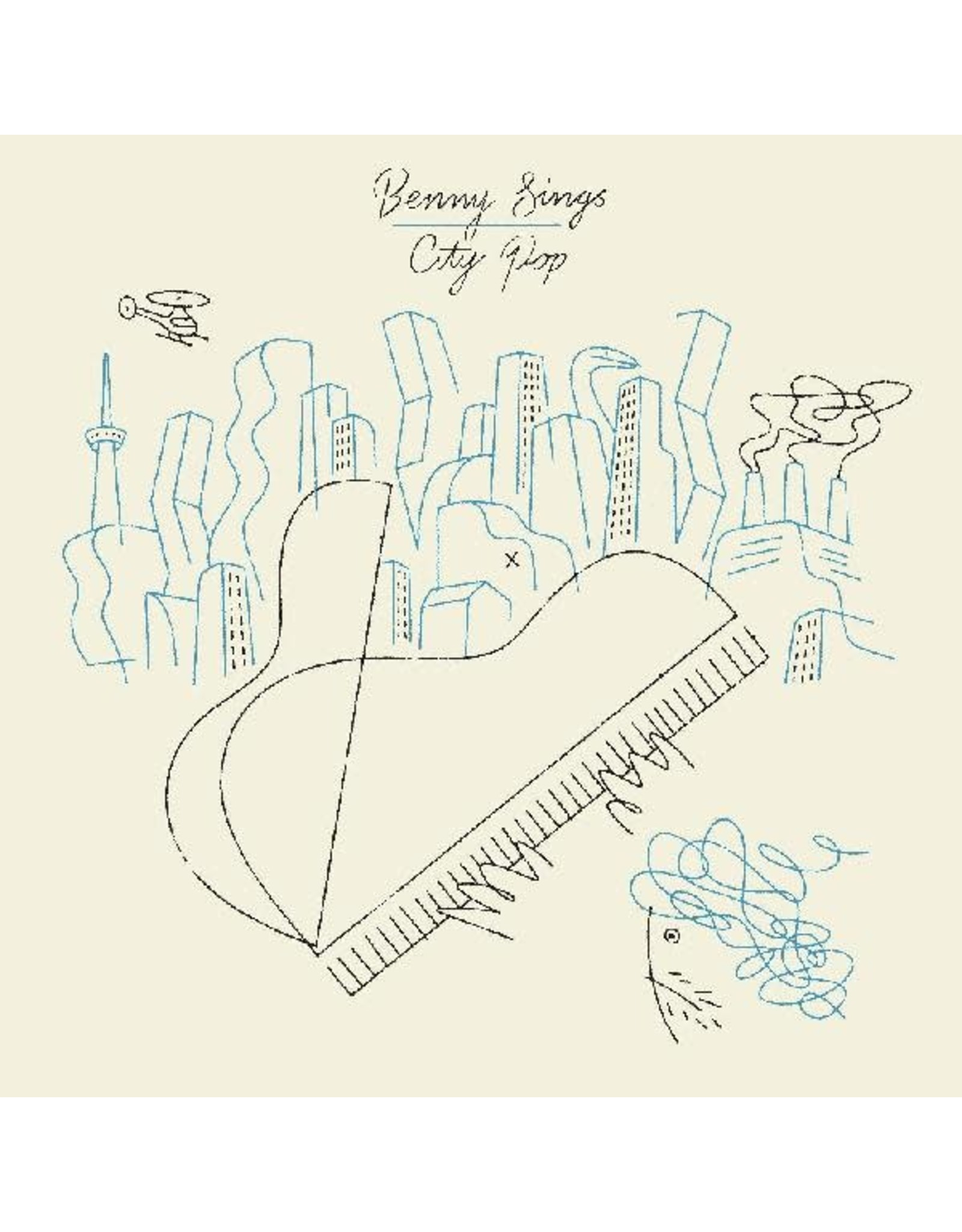 New Vinyl Benny Sings - City Pop (Colored) LP