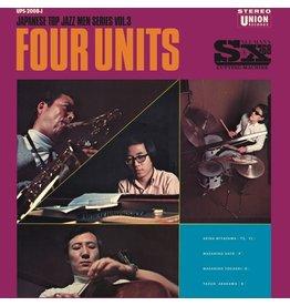 New Vinyl Akira Miyazawa / Masahiko Sato / Masahiko Togashi / Yasuo Arakawa - Four Units: Japanese Jazz Men Series Vol. 3 LP
