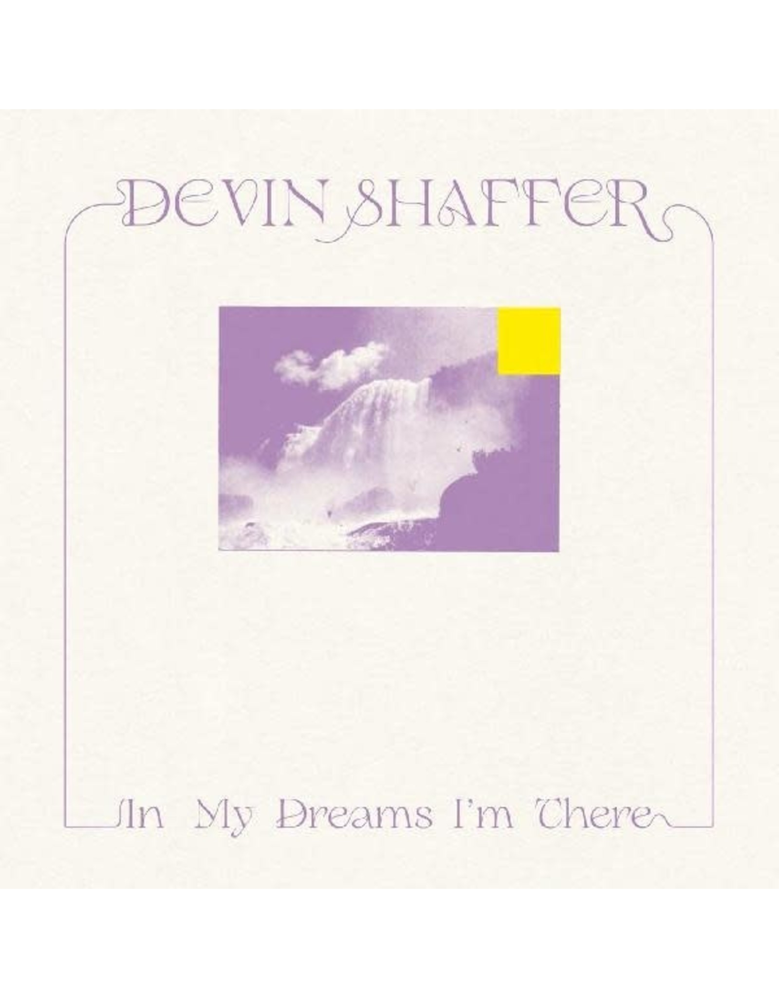 New Vinyl Devin Shaffer - In My Dreams I'm There LP