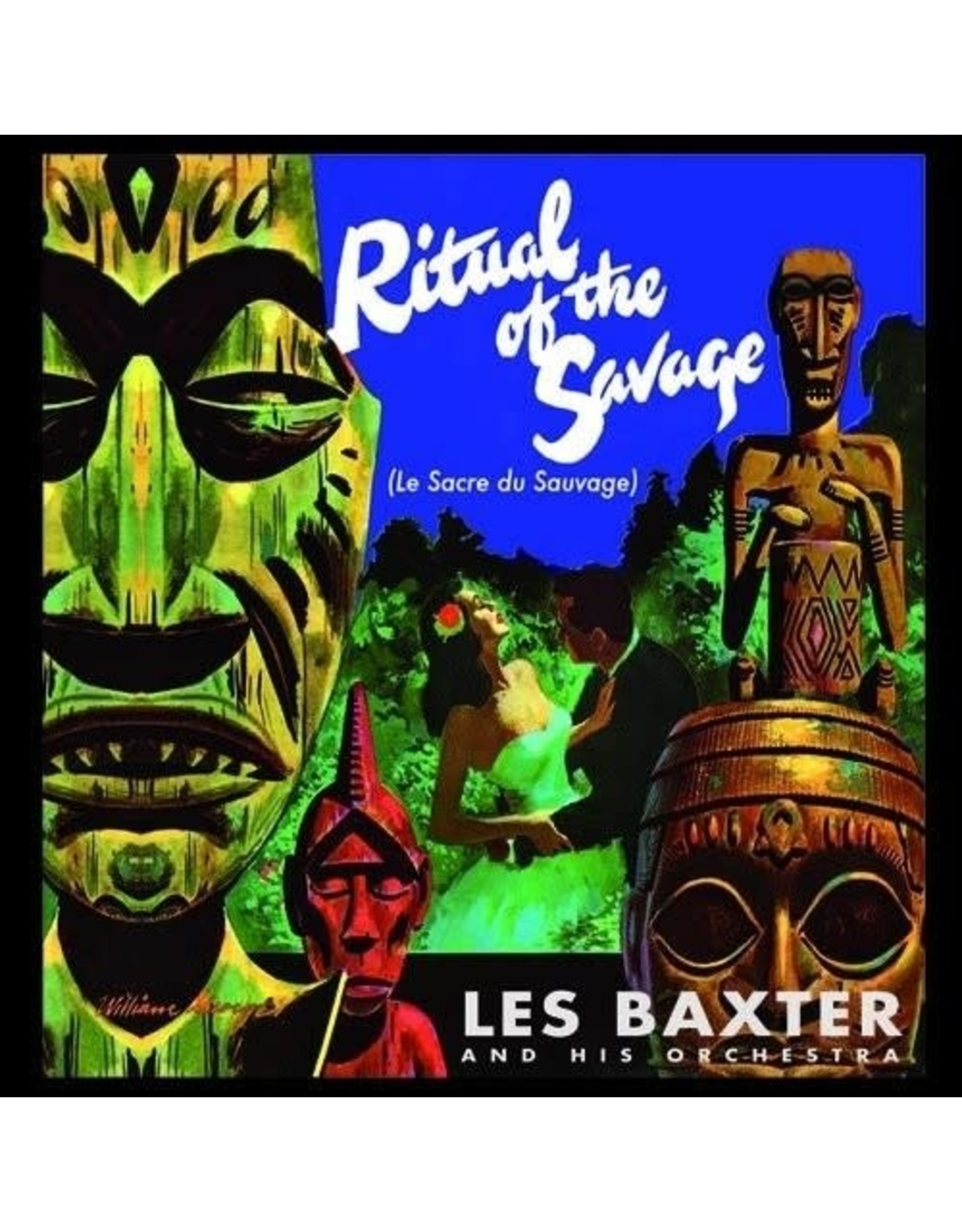 New Vinyl Les Baxter - Ritual Of The Savage + Bonus Tracks (Spain Import, 180g Colored) LP