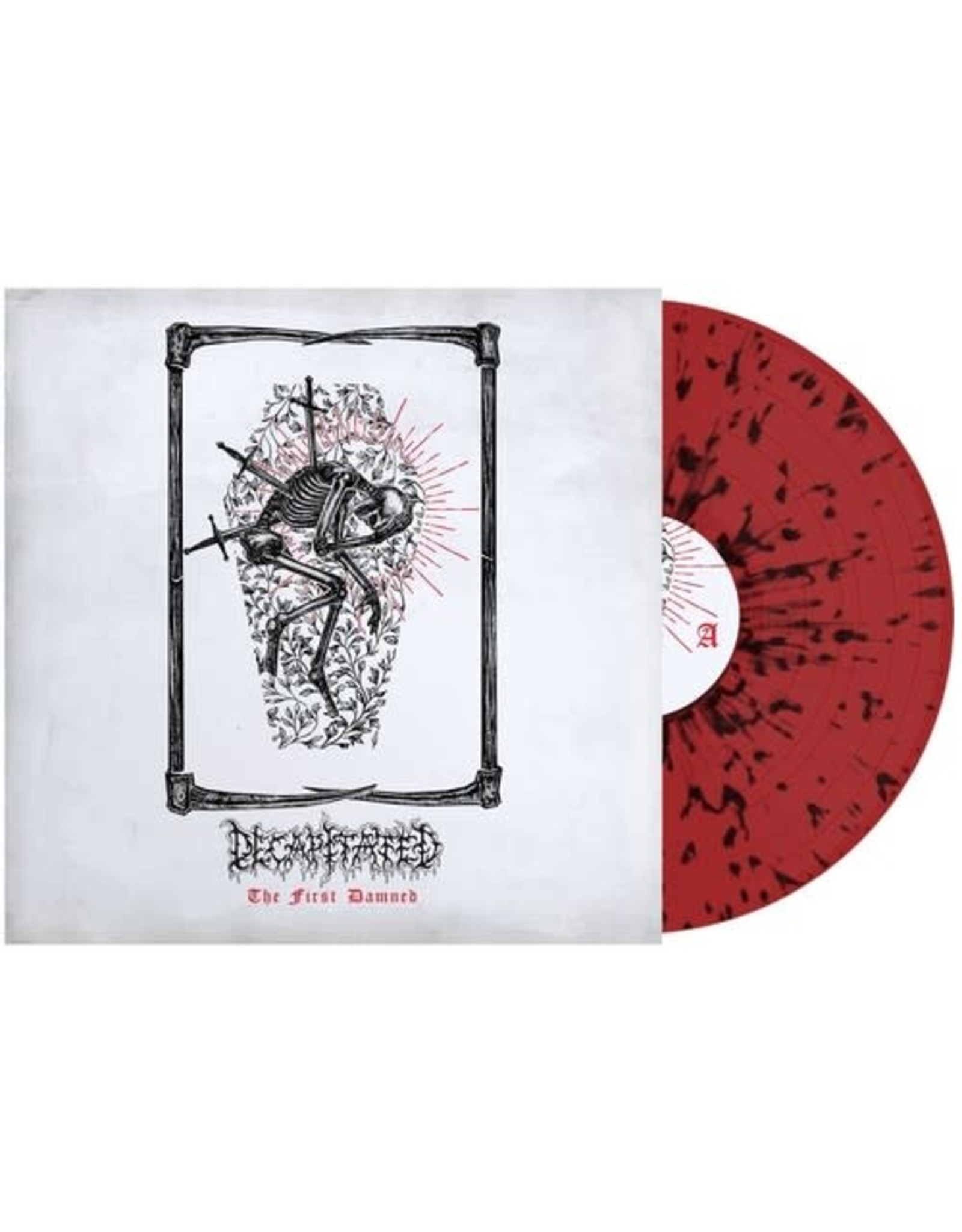New Vinyl Decapitated - The First Damned (Red & Black Splatter) LP