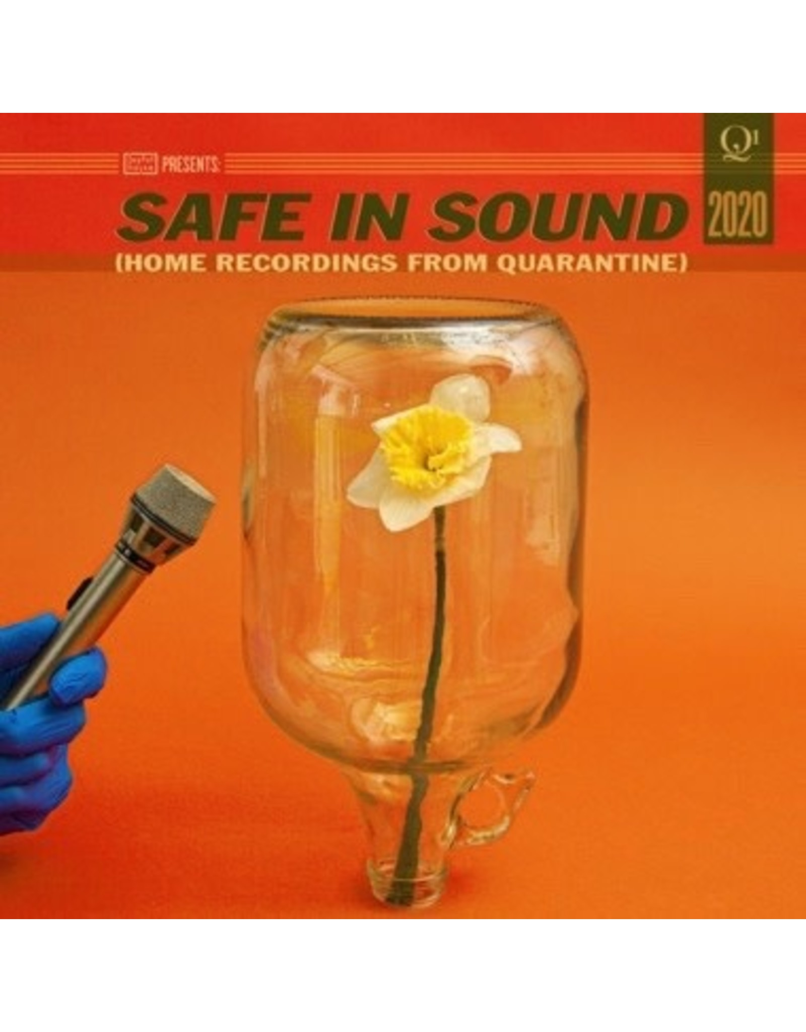 New Vinyl Various - Safe In Sound: Home Recordings From Quarantine (Colored) 2LP