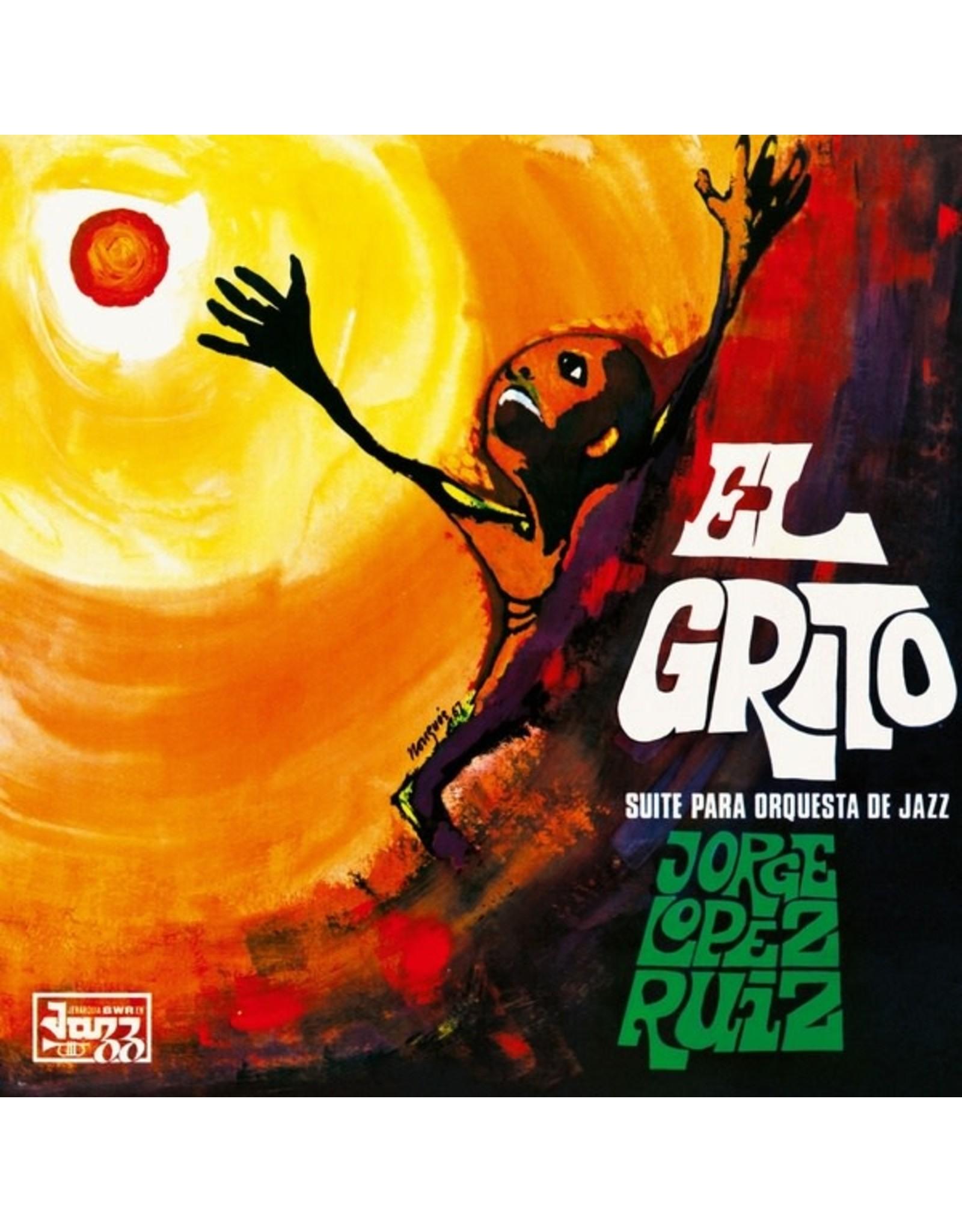 New Vinyl Jorge Lopez Ruiz - El Grito (Suite Para Orquesta De Jazz) LP