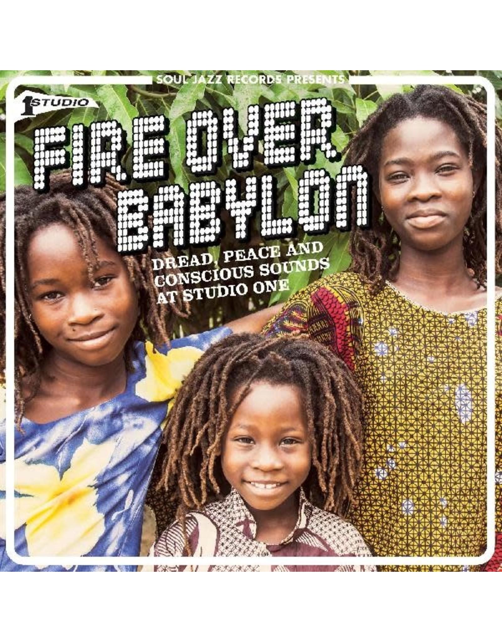 New Vinyl Various - Fire Over Babylon: Dread, Peace and Conscious Sound 2LP