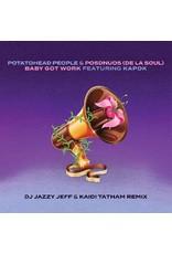 "New Vinyl Potatohead People & De La Soul - Baby Got Work [DJ Jazzy Jeff & Kaidi Tatham Remix] 7"""