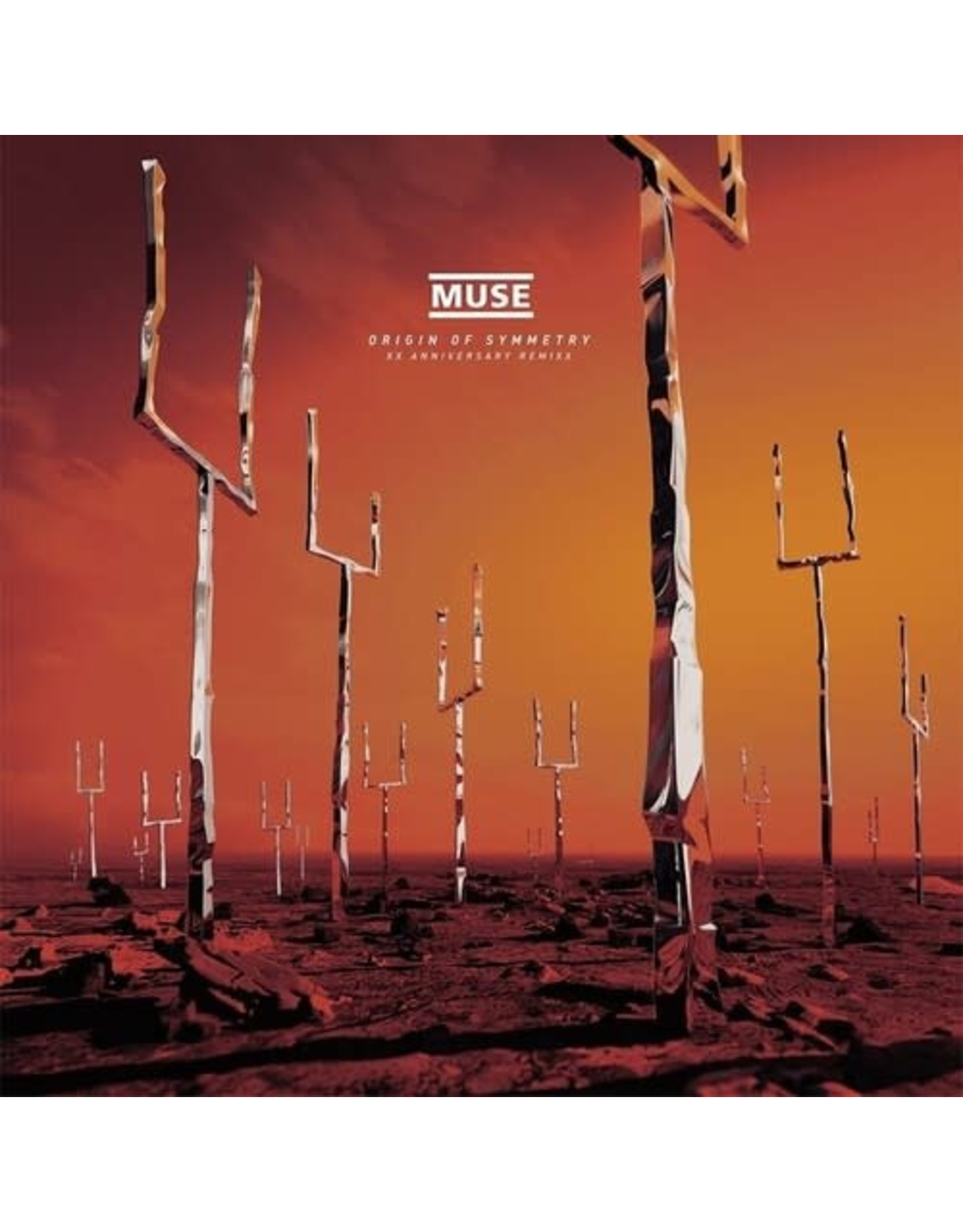New Vinyl Muse - ORIGIN OF SYMMETRY XX Anniversary RemiXX 2LP