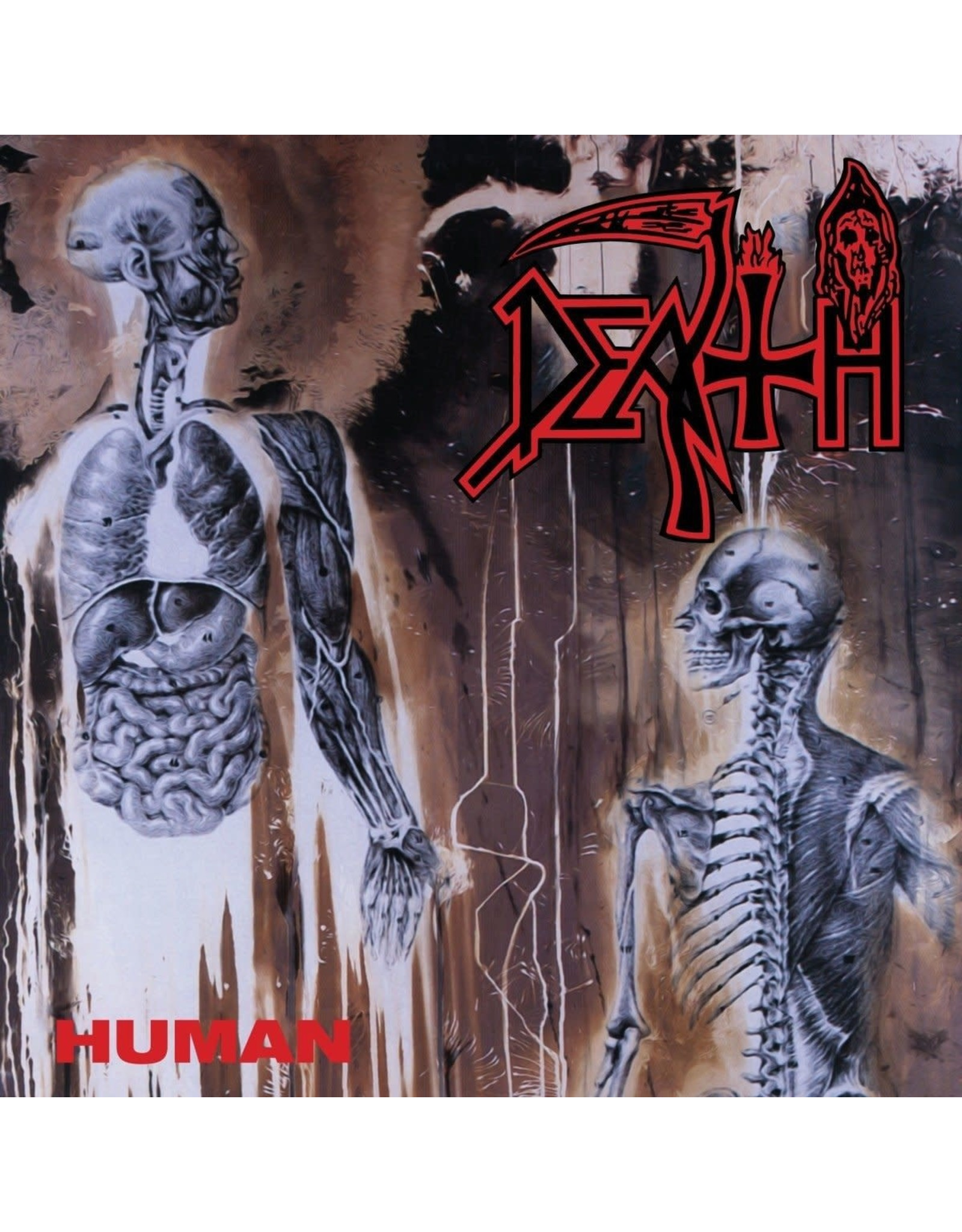 New Vinyl Death - Human (Custom Splatter) LP