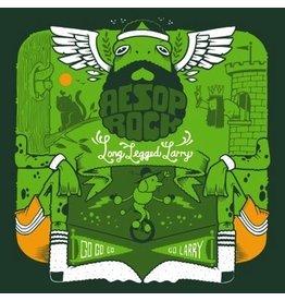 "New Vinyl Aesop Rock - Long Legged Larry (Green) 7"""