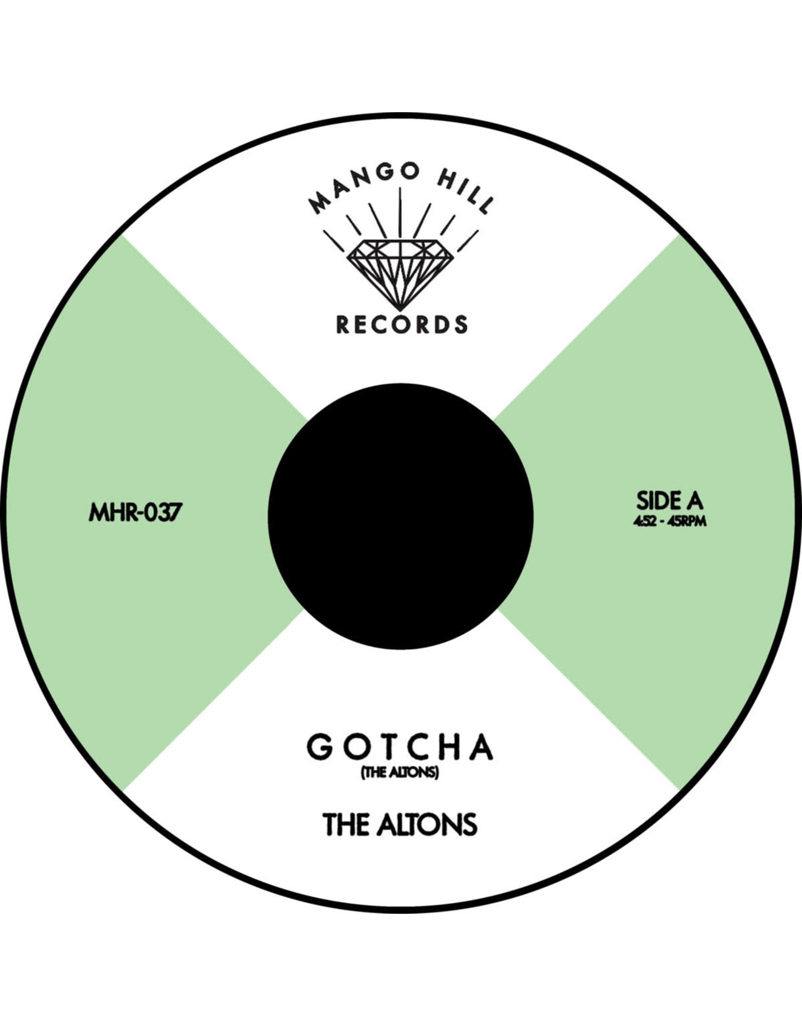 "New Vinyl The Altons - Gotcha b/w Maldito (Coke Bottle Clear) 7"""
