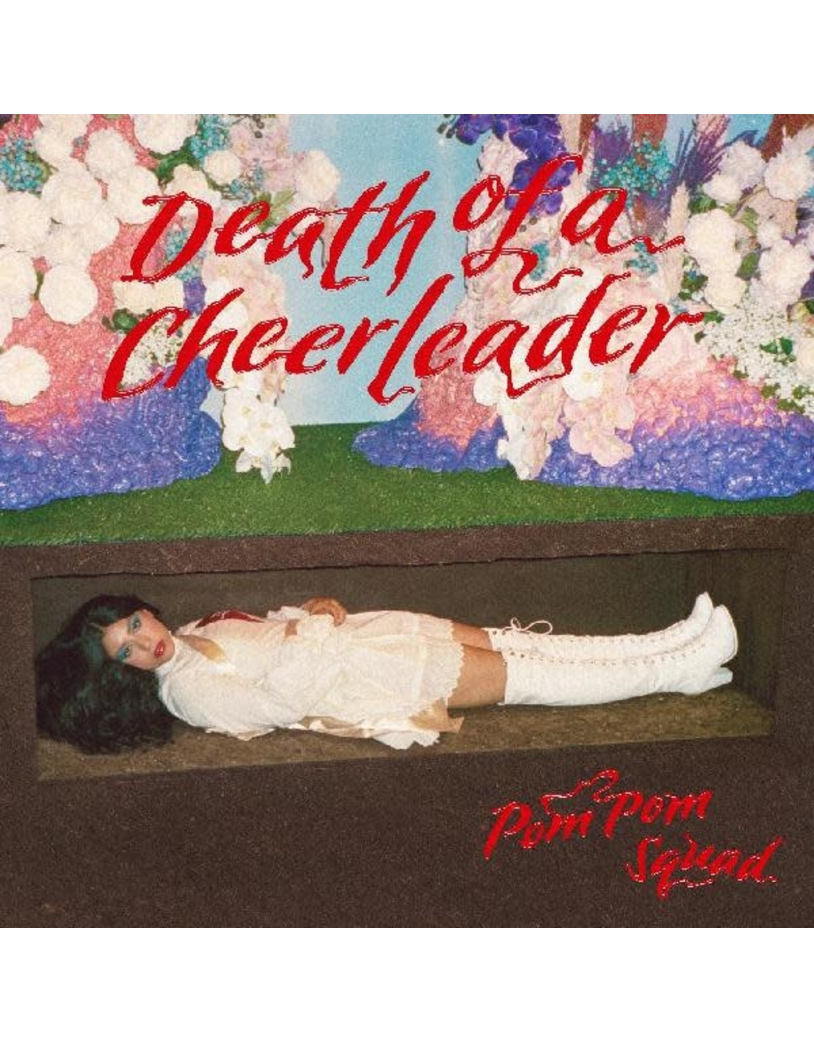 New Vinyl Pom Pom Squad - Death Of A Cheerleader (Colored) LP