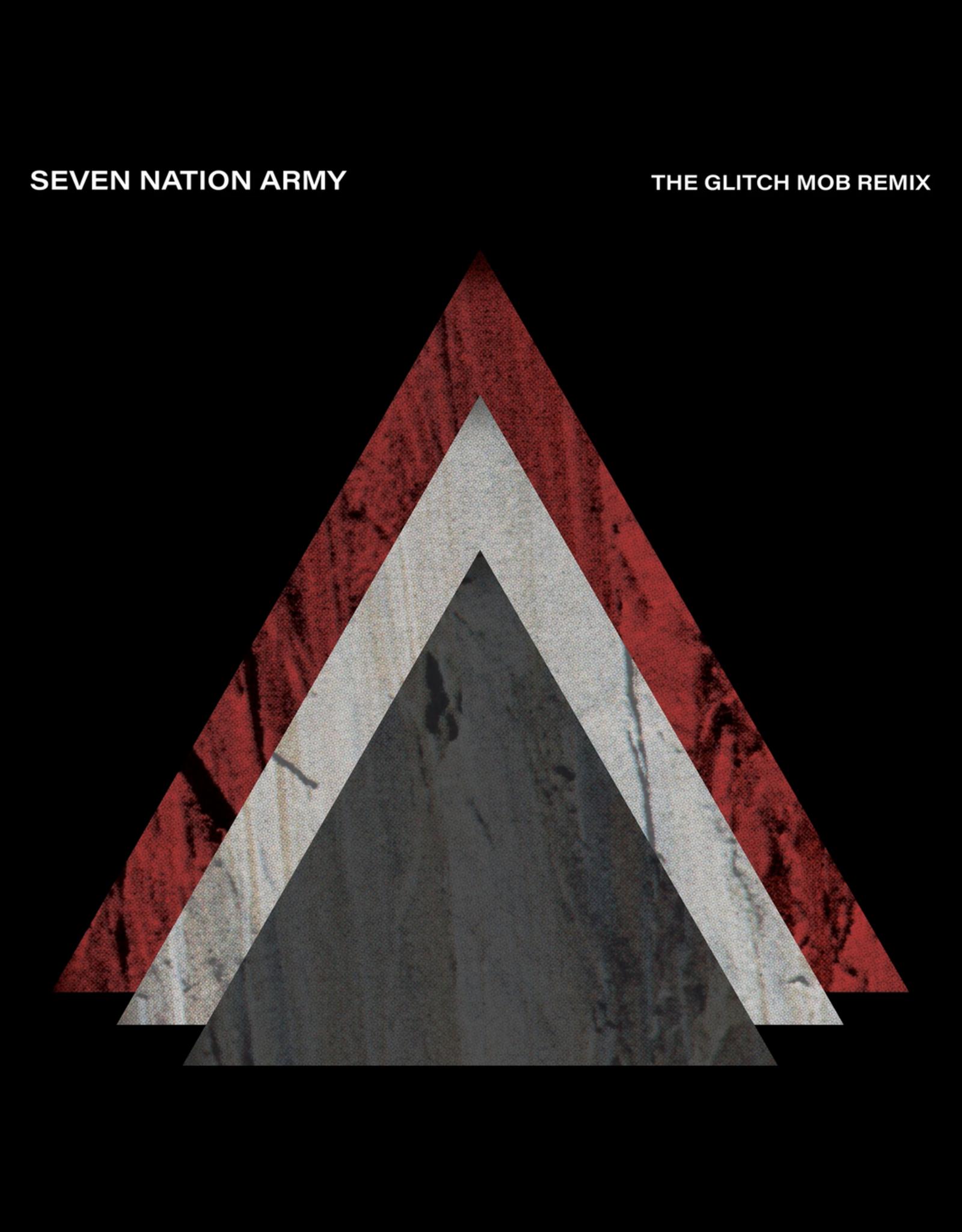 "New Vinyl White Stripes - Seven Nation Army: The Glitch Mob Remix (Colored) 7"""