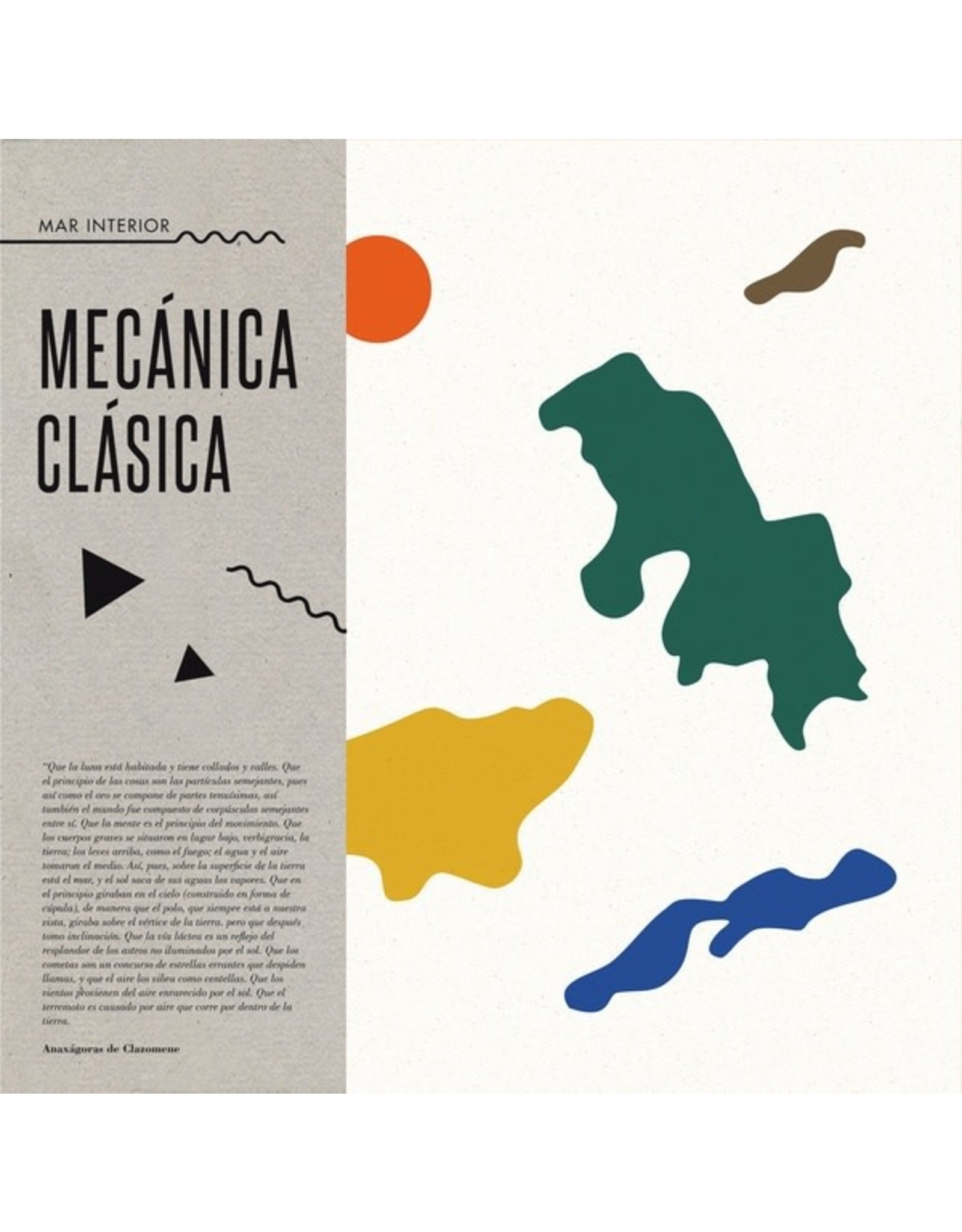New Vinyl Mecánica Clásica - Mar Interior LP