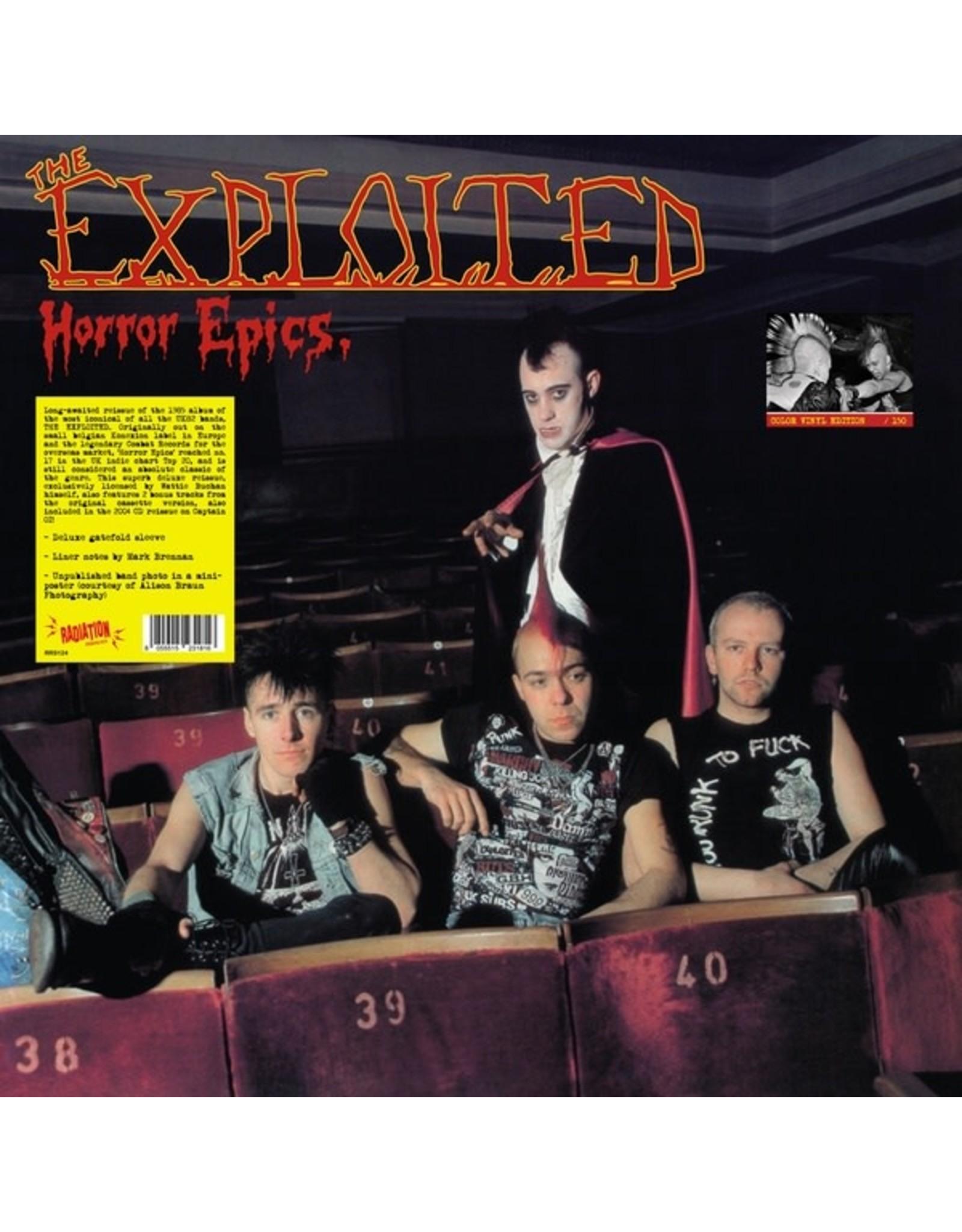 New Vinyl The Exploited - Horror Epics LP