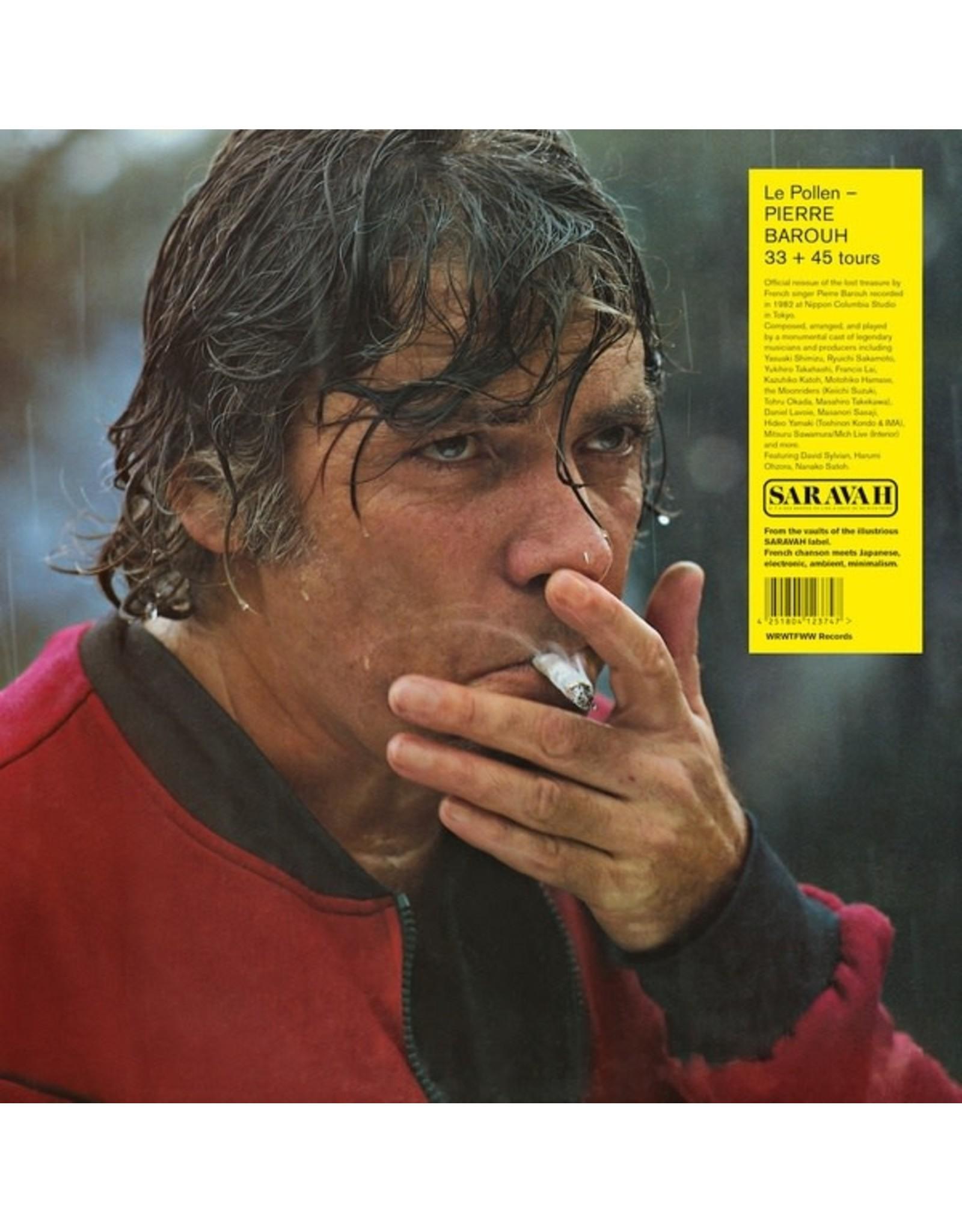 "New Vinyl Pierre Barouh - Le Pollen LP+7"""