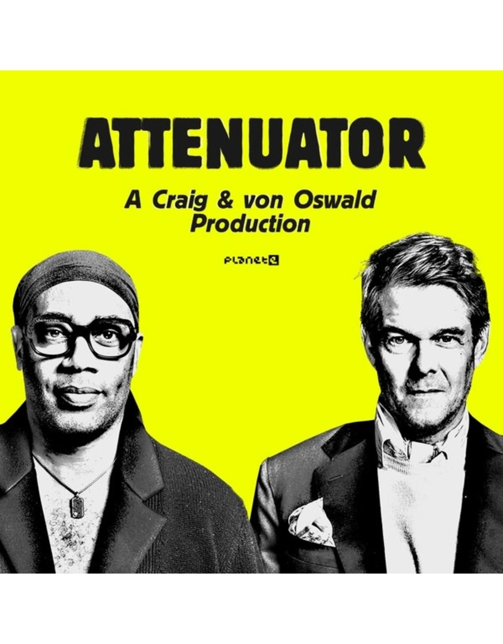 """New Vinyl Carl Craig & Moritz Von Oswald - Attenuator 12"""""""