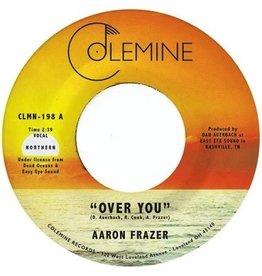 "New Vinyl Aaron Frazer - Over You (Translucent Orange) 7"""