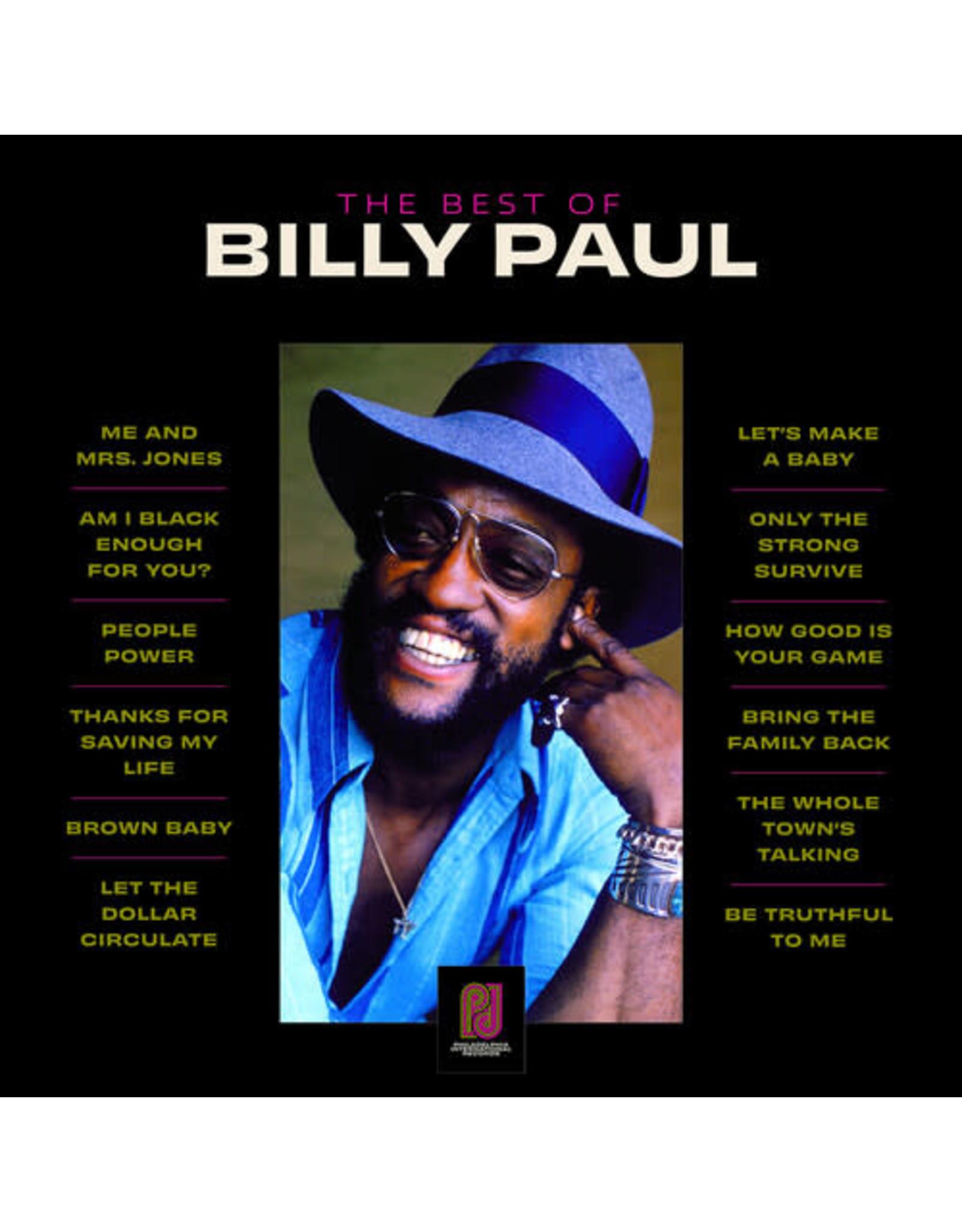 New Vinyl Billy Paul - The Best Of LP