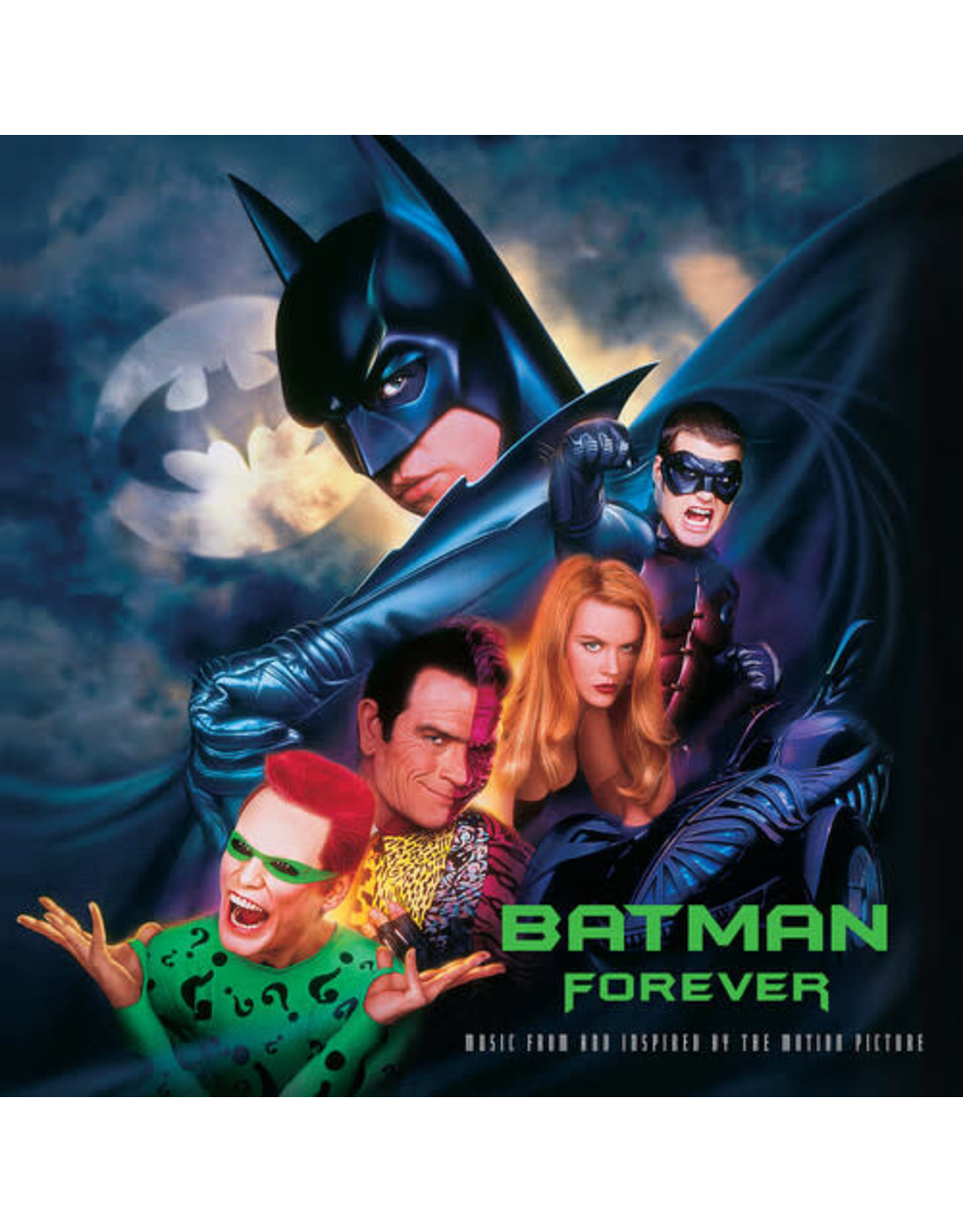 New Vinyl Various - Batman Forever OST (Colored) 2LP