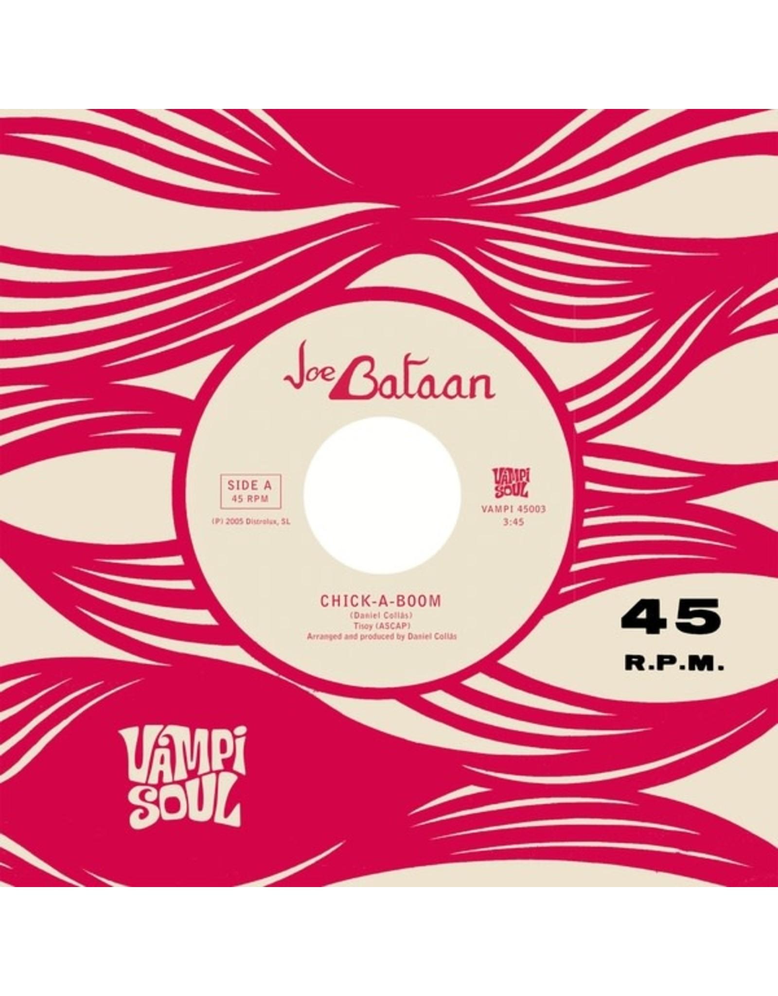 "New Vinyl Joe Bataan - Chick-A-Boom / Cycles Of You (Colored) 7"""