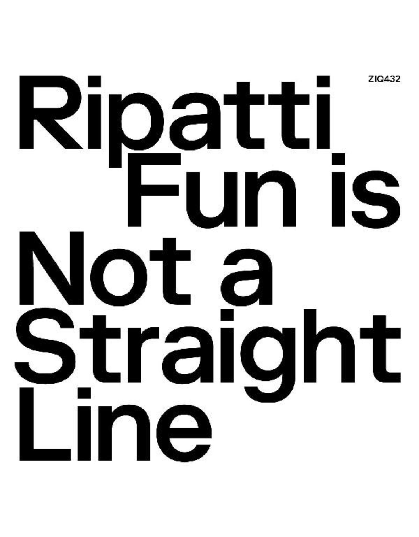 New Vinyl Ripatti - Fun Is Not A Straight Line (Clear) LP