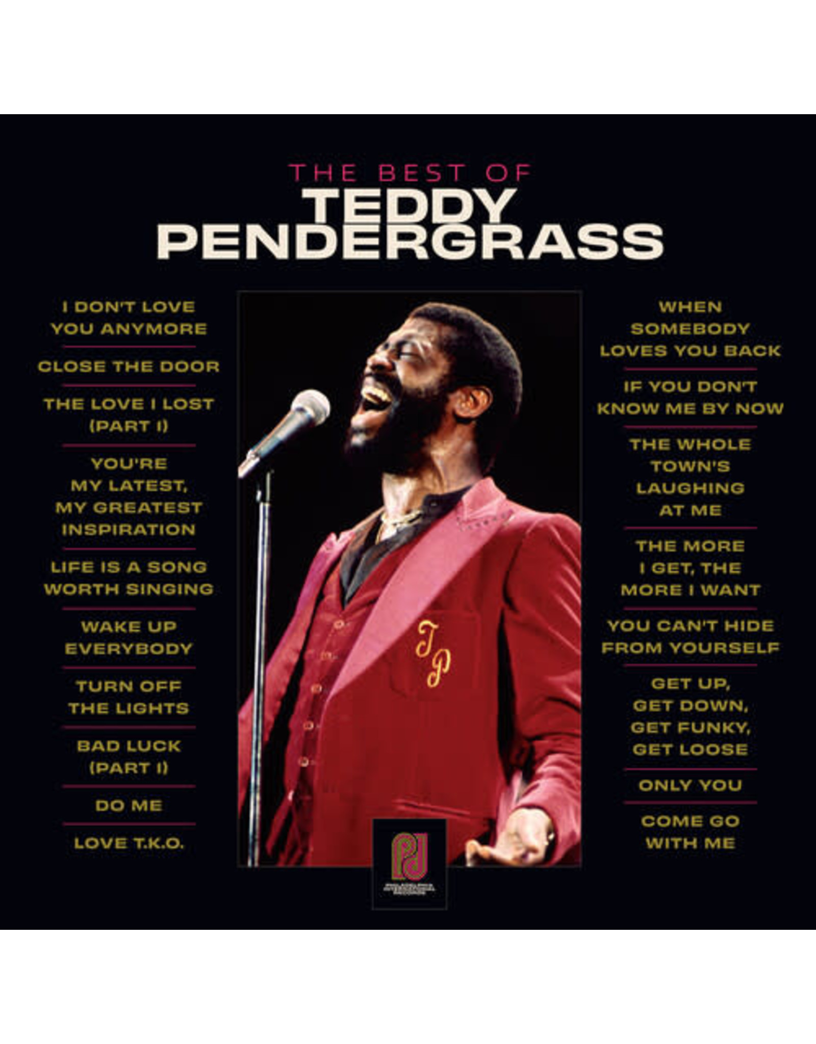 New Vinyl Teddy Pendergrass - The Best Of 2LP