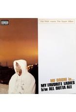 "New Vinyl MF DOOM - My Favorite Ladies (Splatter) 12"""