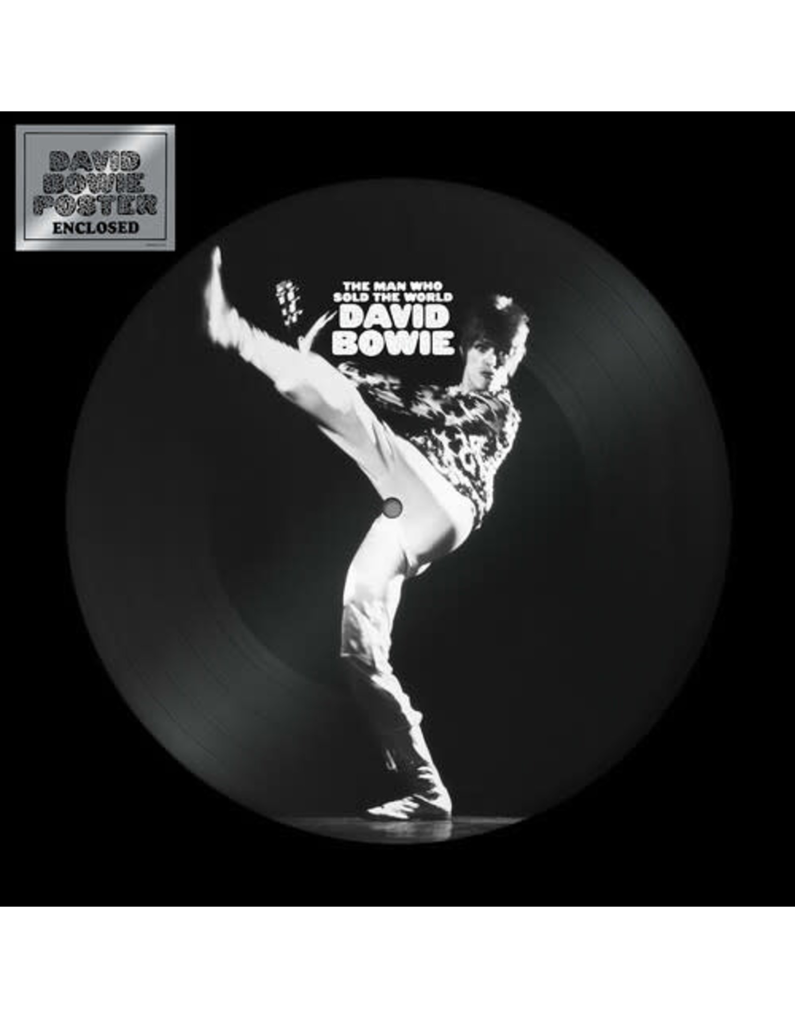 """New Vinyl David Bowie - The Man Who Sold The World (Picture) 12"""""""