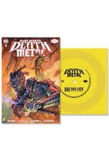 "New Vinyl Denzel Curry/PlayThatBoiZay - Bad Luck (DC - Dark Nights: Death Metal Version) Comic/Flexi 7"""