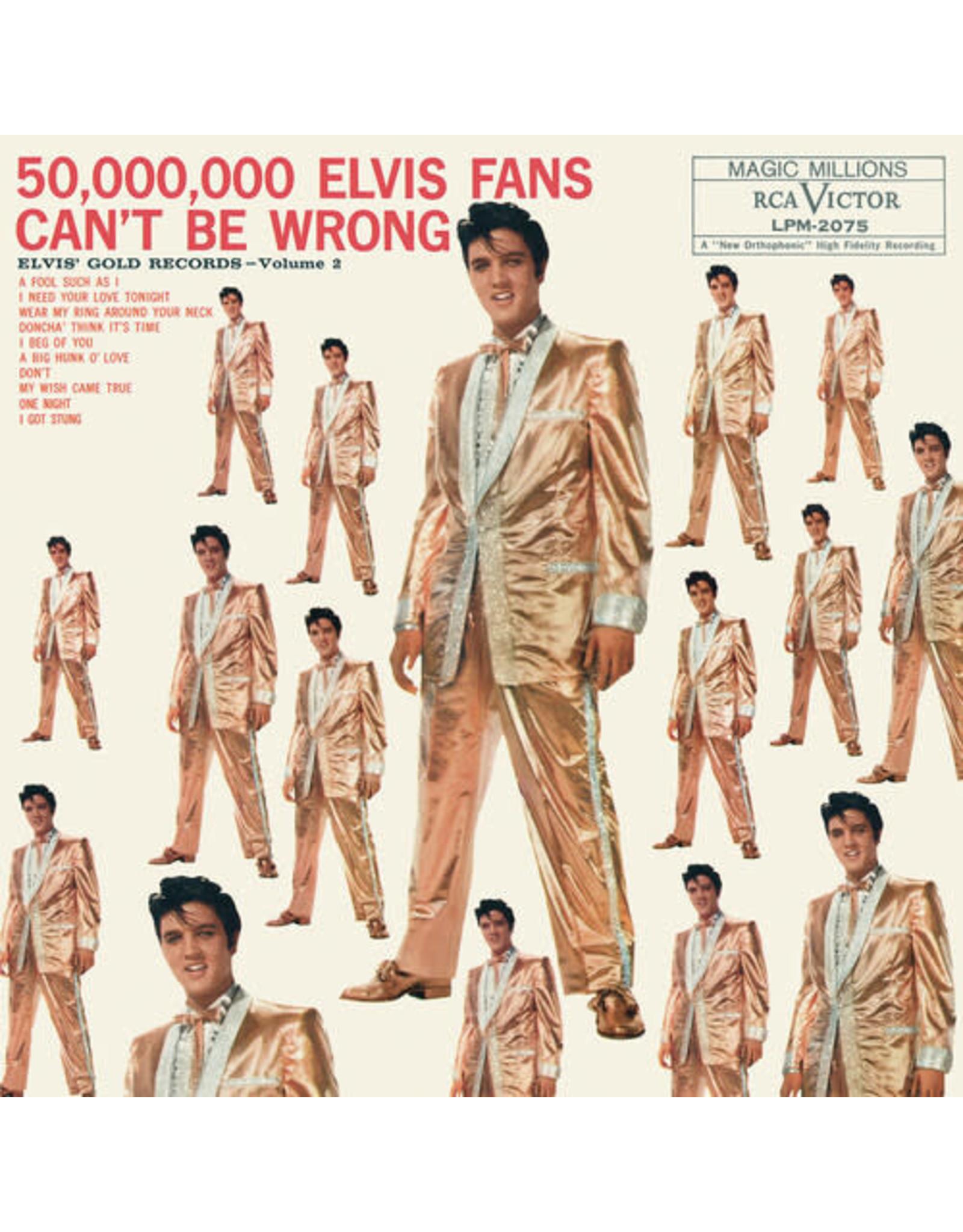 New Vinyl Elvis Presley - 50,000,000 Elvis Fans Can't Be Wrong: Elvis' Gold Records Vol. 2