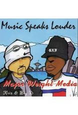"""New Vinyl Major Weight Media - Music Speaks Louder EP 12"""""""