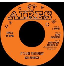 "New Vinyl Noel Robinson - It's Like Yesterday 7"""