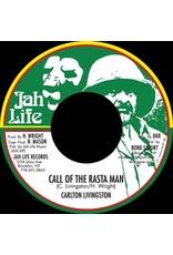 """New Vinyl Carlton Livingston - Call Of The Rasta Man 7"""""""
