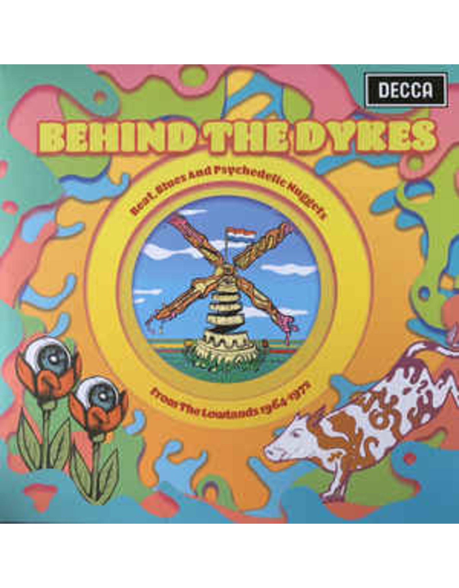 New Vinyl Various - Behind The Dykes: Beat, Blues & Psychedelic Nuggets From The Lowlands 1964-1972 [EU Import] 2LP