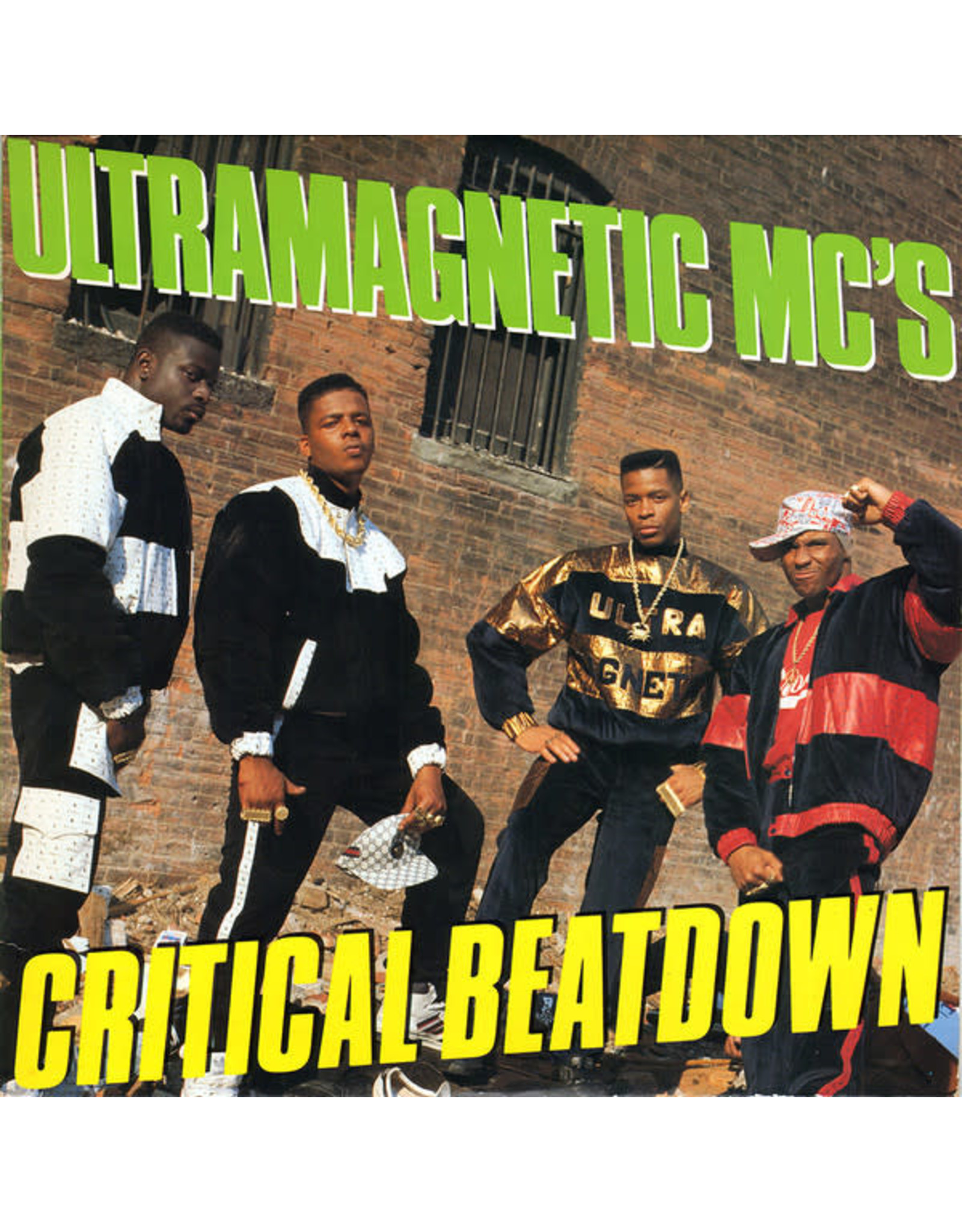 New Vinyl Ultramagnetic MC's - Critical Beatdown (Expanded Edition) [EU Import, Colored] 2LP