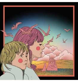 New Vinyl STRFKR - Reptilians (10th Anniversary, Clear Emerald / Clear Pink) 2LP