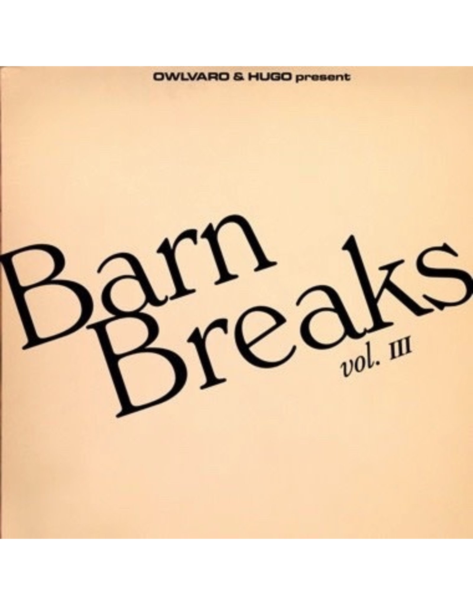 New Vinyl Khruangbin - Barn Breaks Vol. III