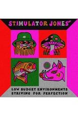 New Vinyl Stimulator Jones - Low Budget Environments Striving For Perfection LP
