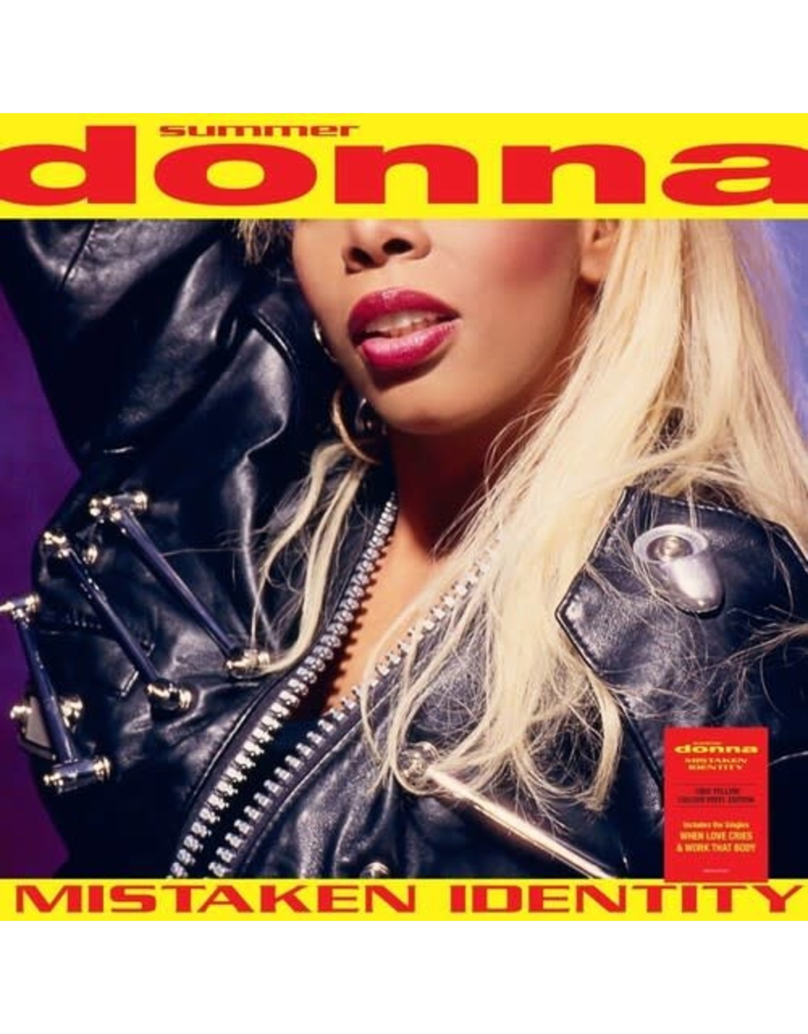 New Vinyl Donna Summer - Mistaken Identity [EU Import] (180g, Colored) LP