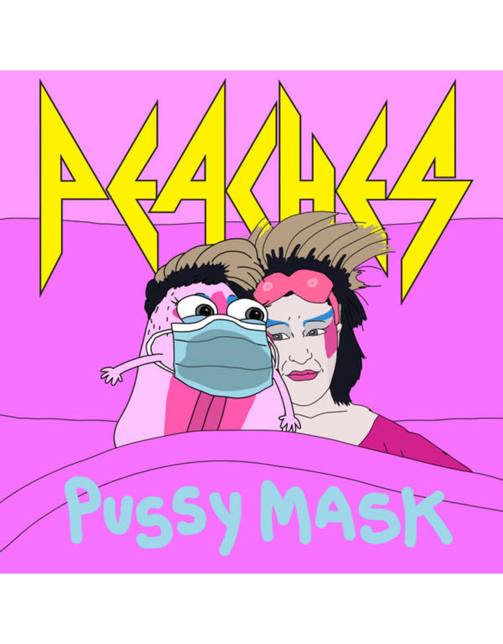 "New Vinyl Peaches - Pussy Mask 7"""