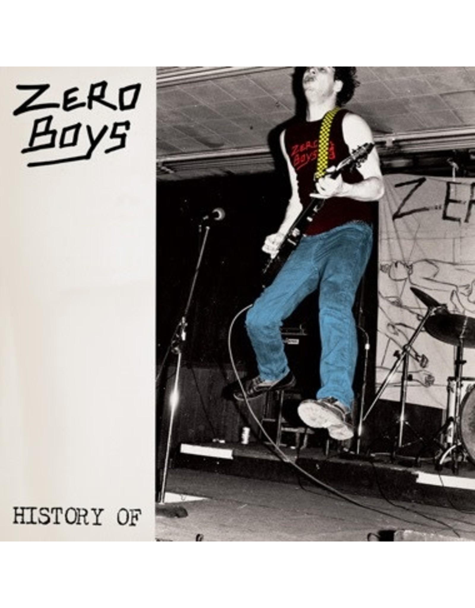 New Vinyl Zero Boys - History Of LP